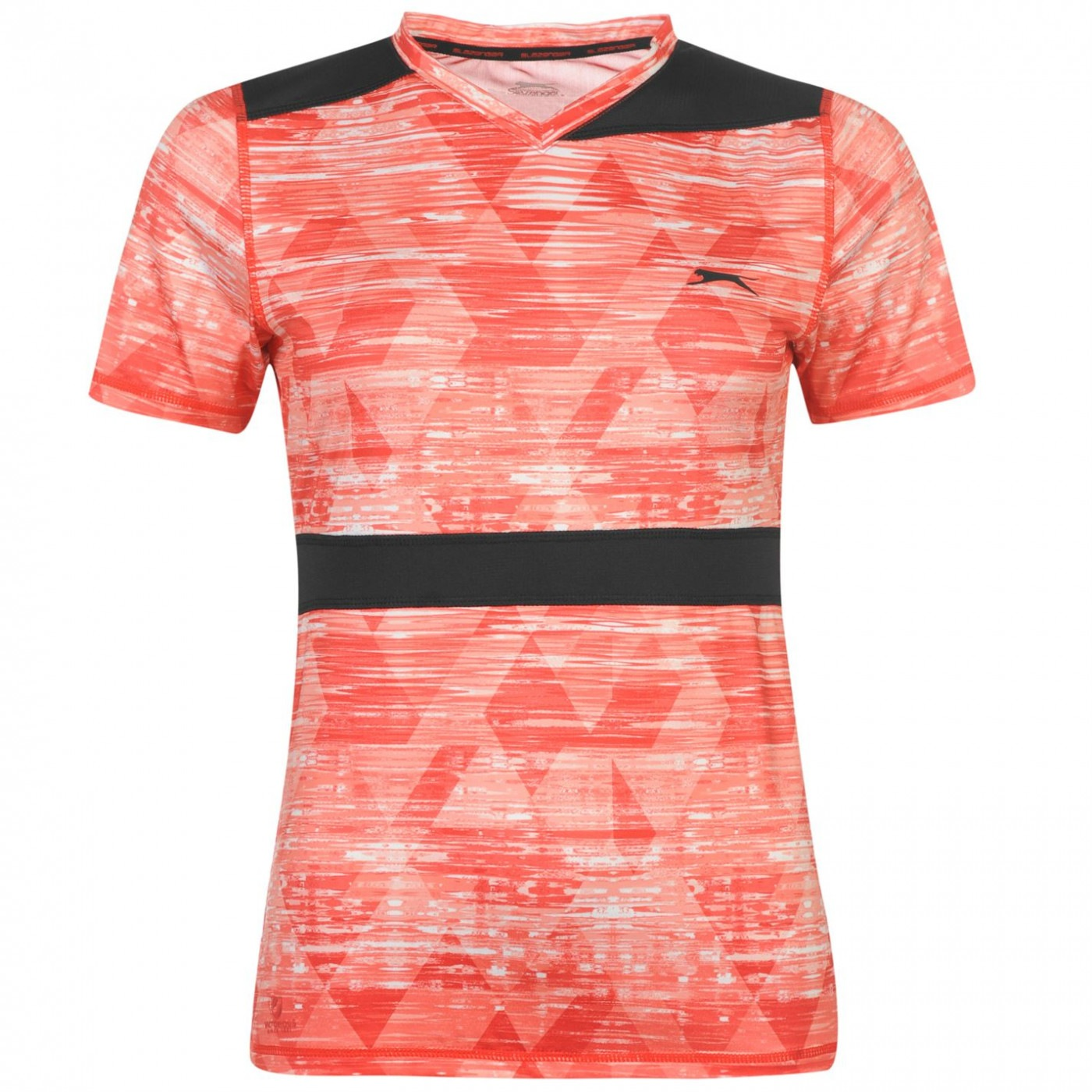 Slazenger Slam Tennis Performance T Shirt Ladies