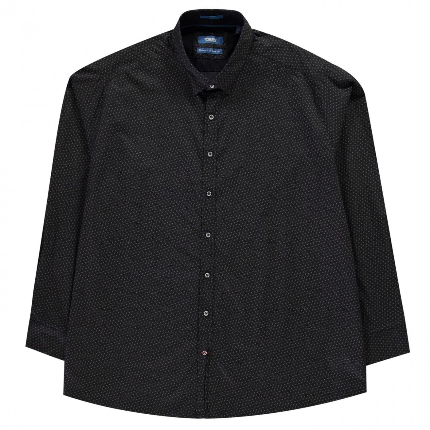 D555 Babworth Long Sleeve Shirt Mens