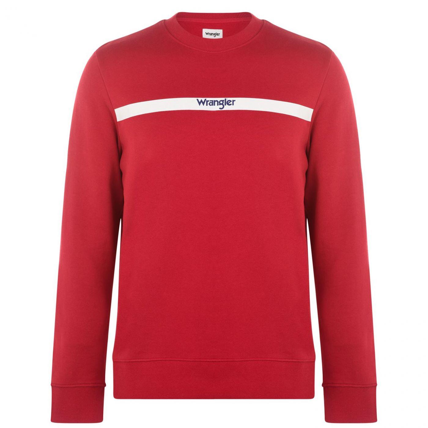 Wrangler Stripe Sweatshirt