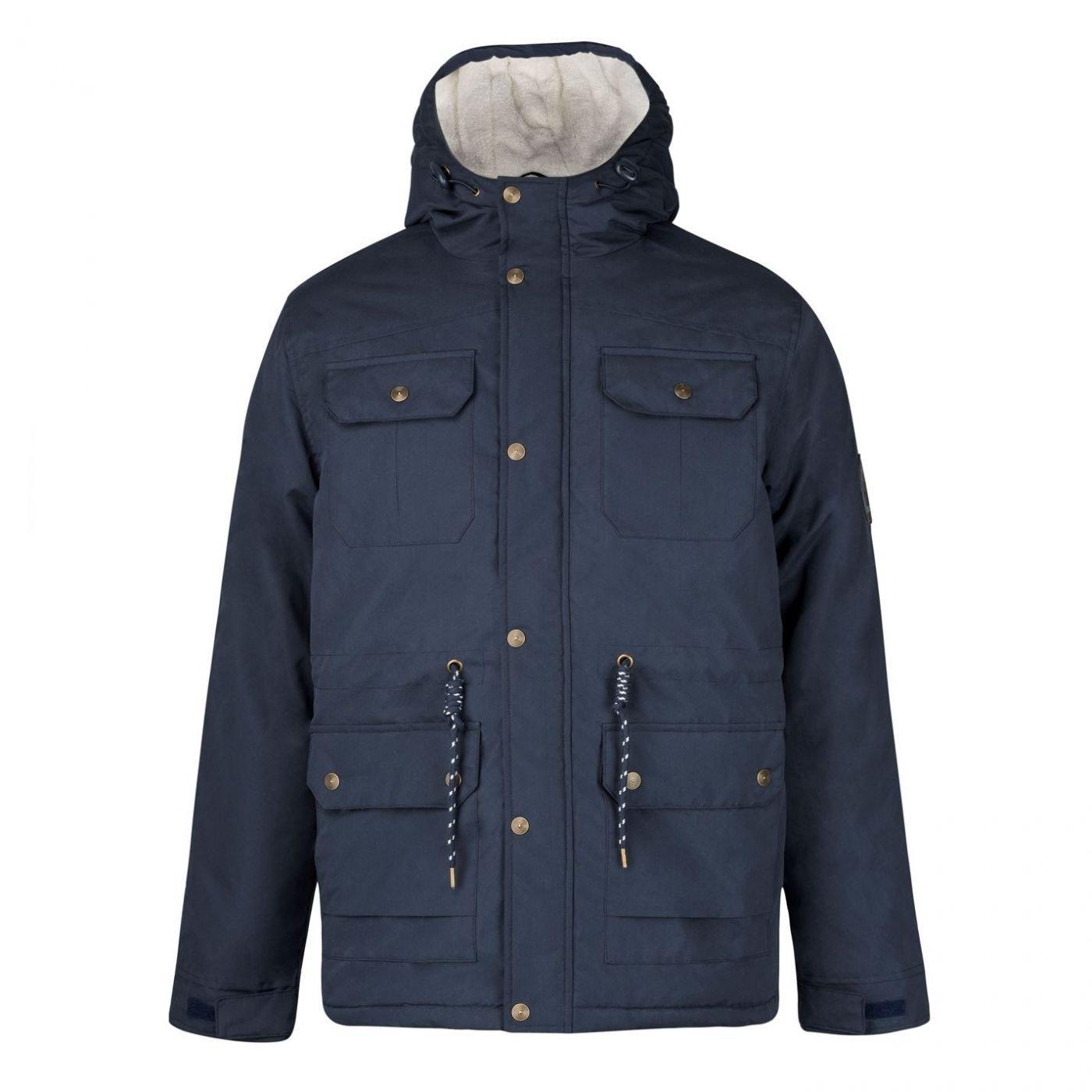 Lee Cooper Hooded Parka Jacket Mens