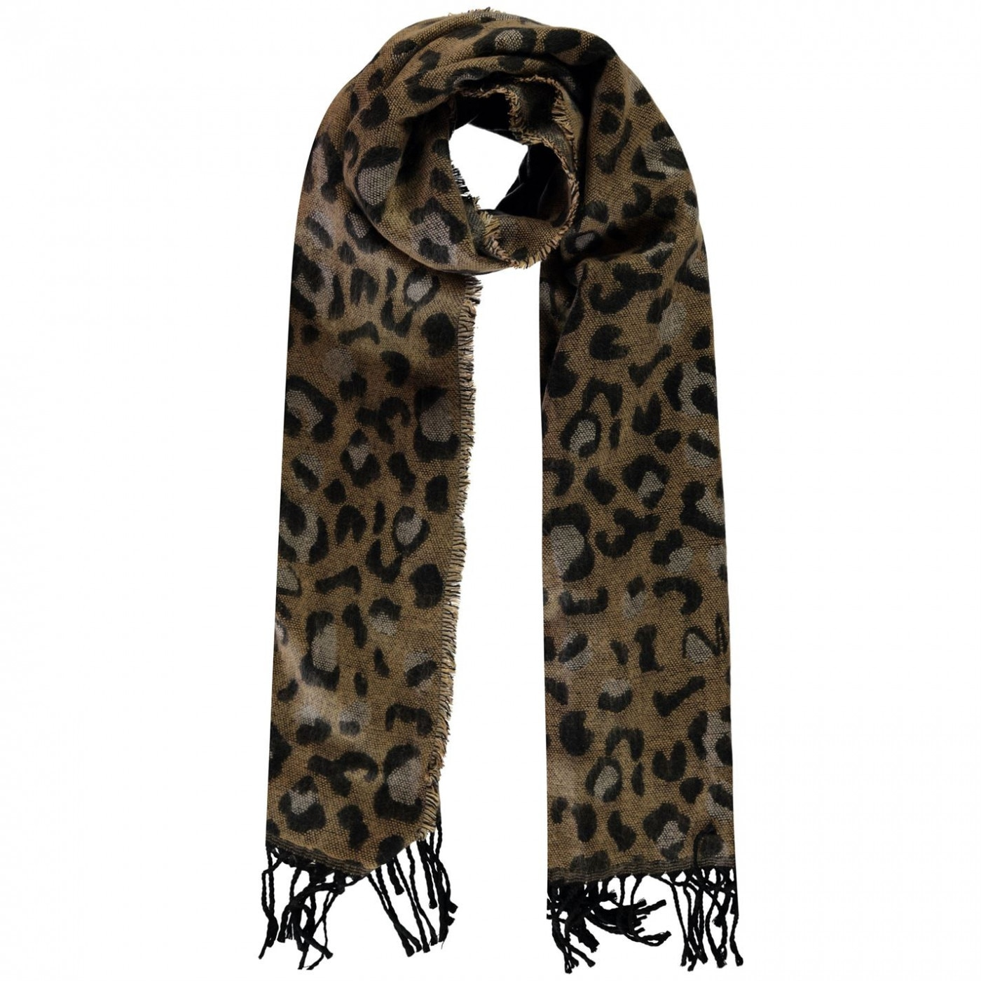 Biba Leopard Print Scarf