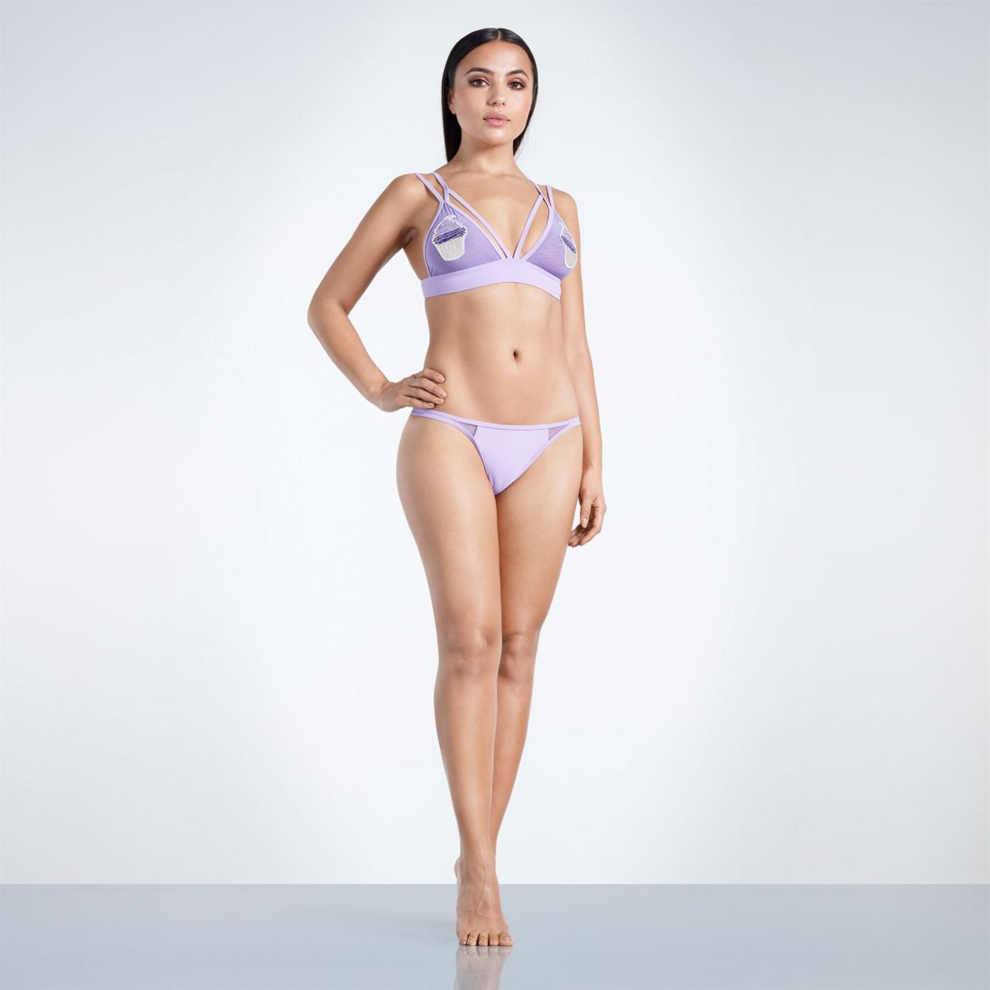 Golddigga Cupcake Bikini Top Ladies