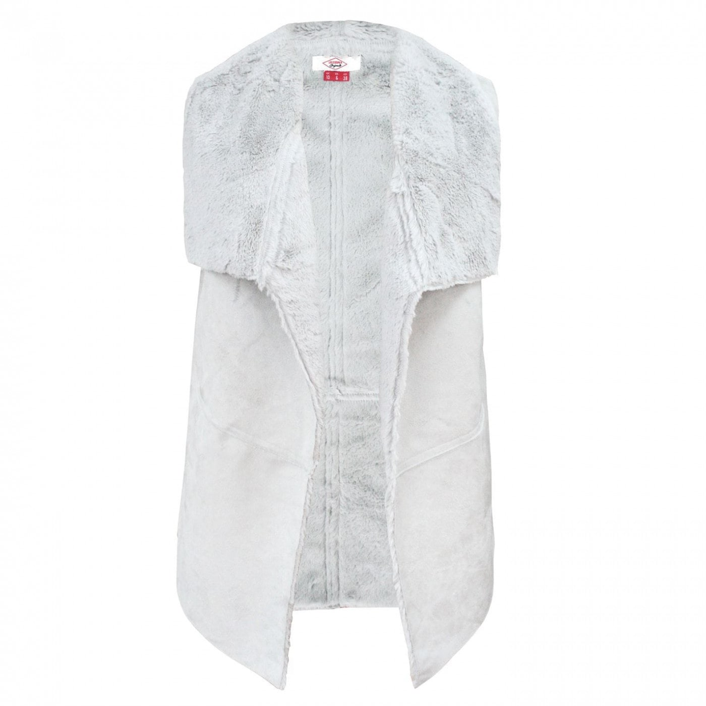 Lee Cooper Suede Effect Gilet Ladies