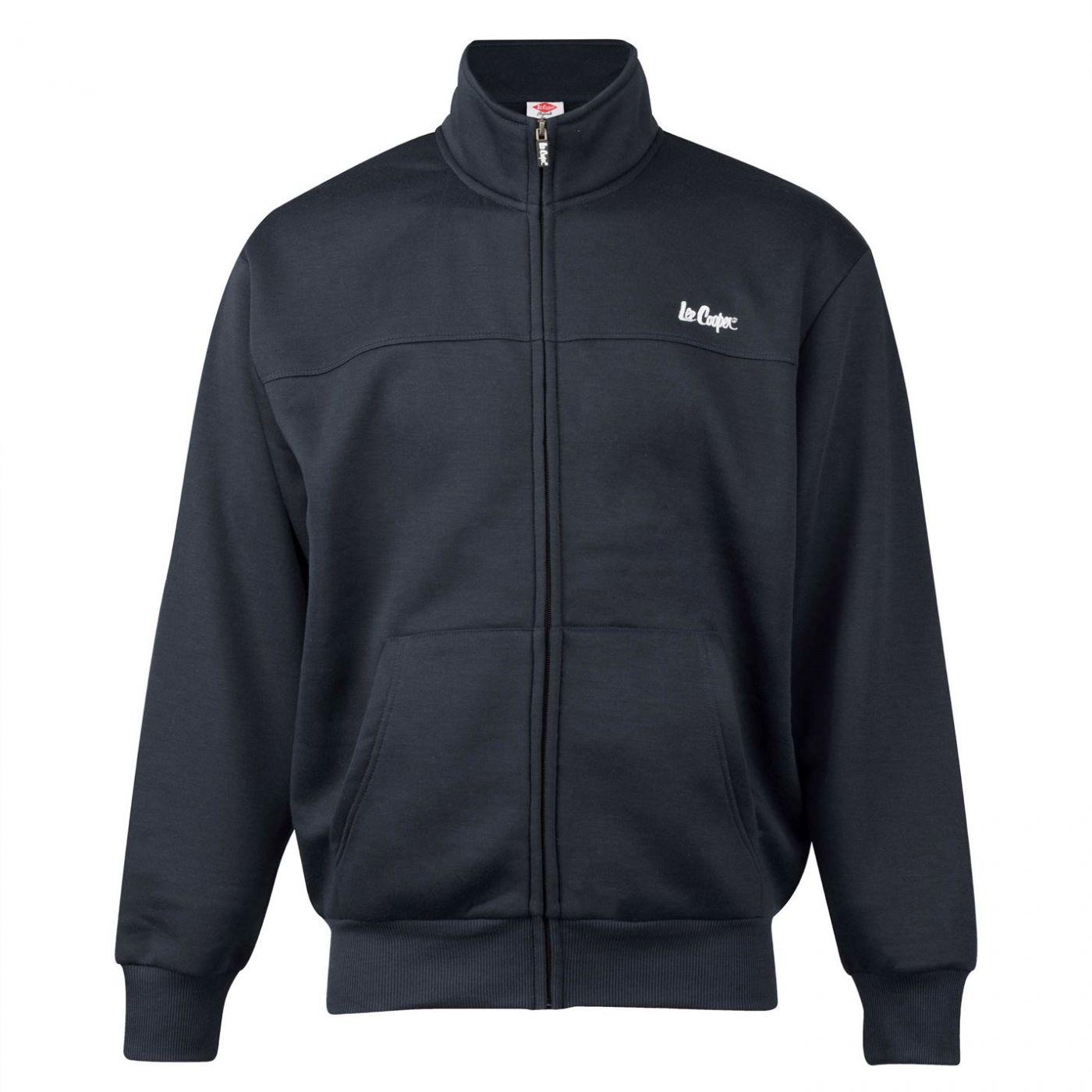 Lee Cooper Full Zip Fleece Jacket Mens