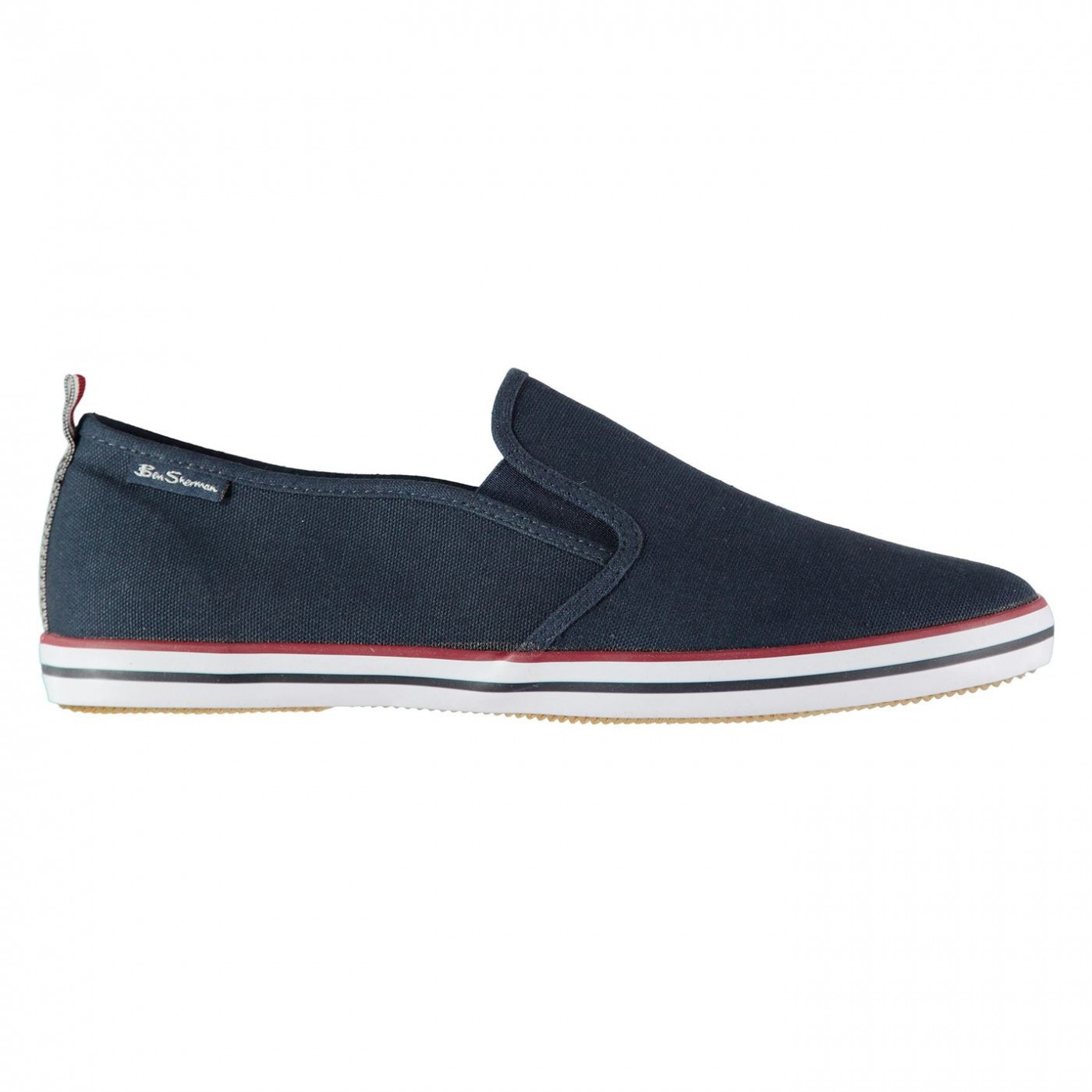 Ben Sherman Leigh Slip On Canvas Trainers