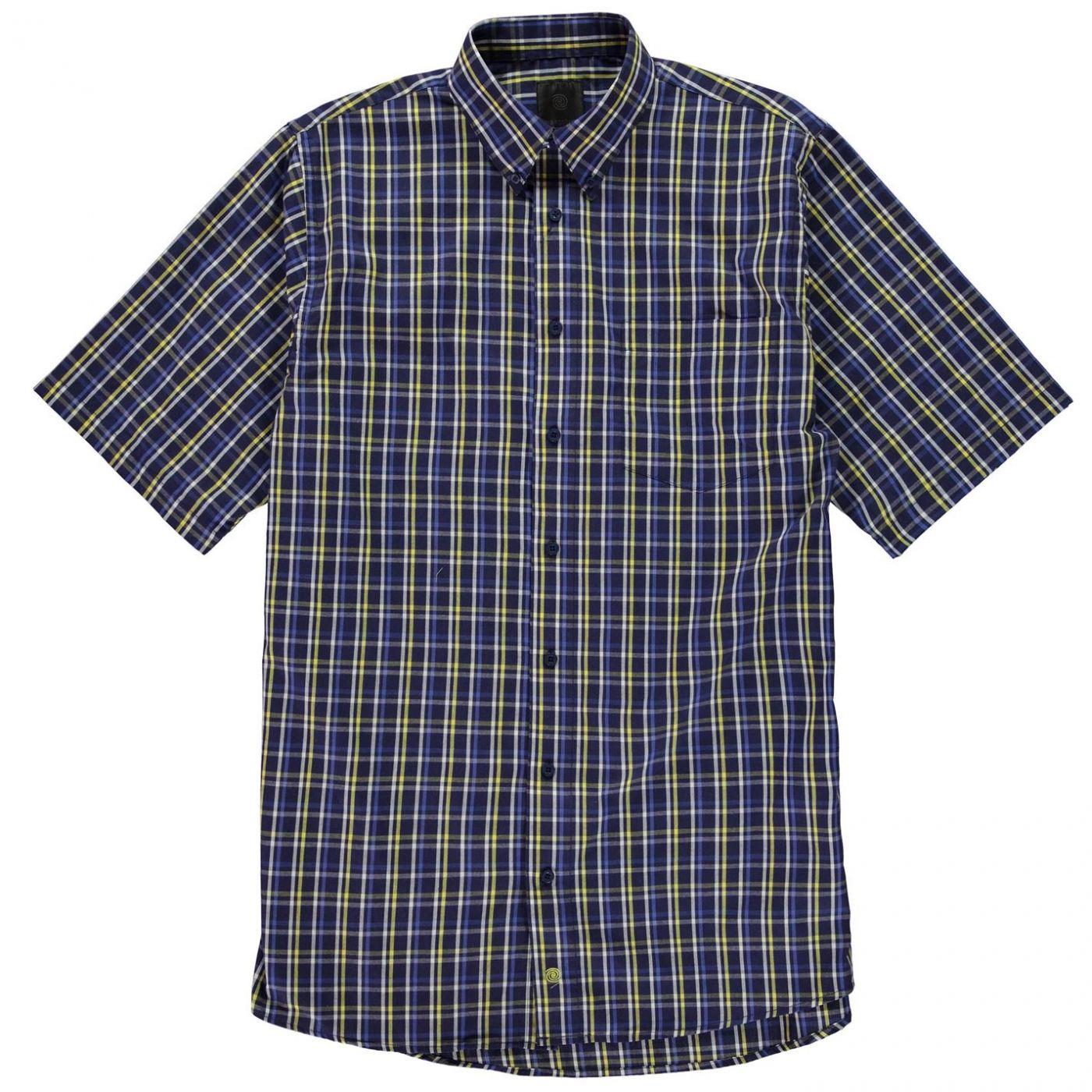 Fusion Micro Check Shirt Mens