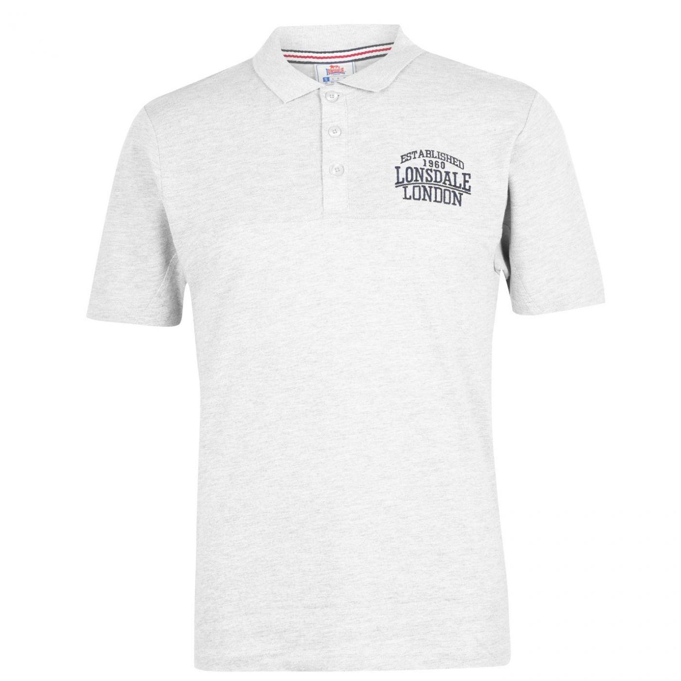 Lonsdale Box Polo Shirt Mens
