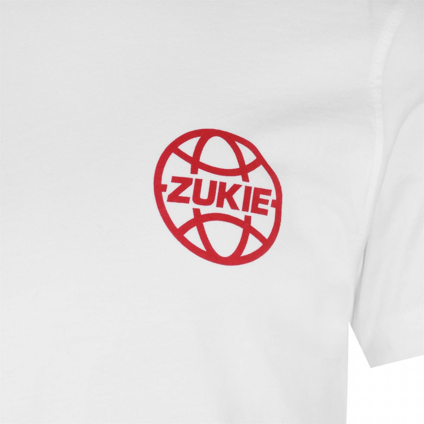 Zukie Pizza Logo T Shirt Mens