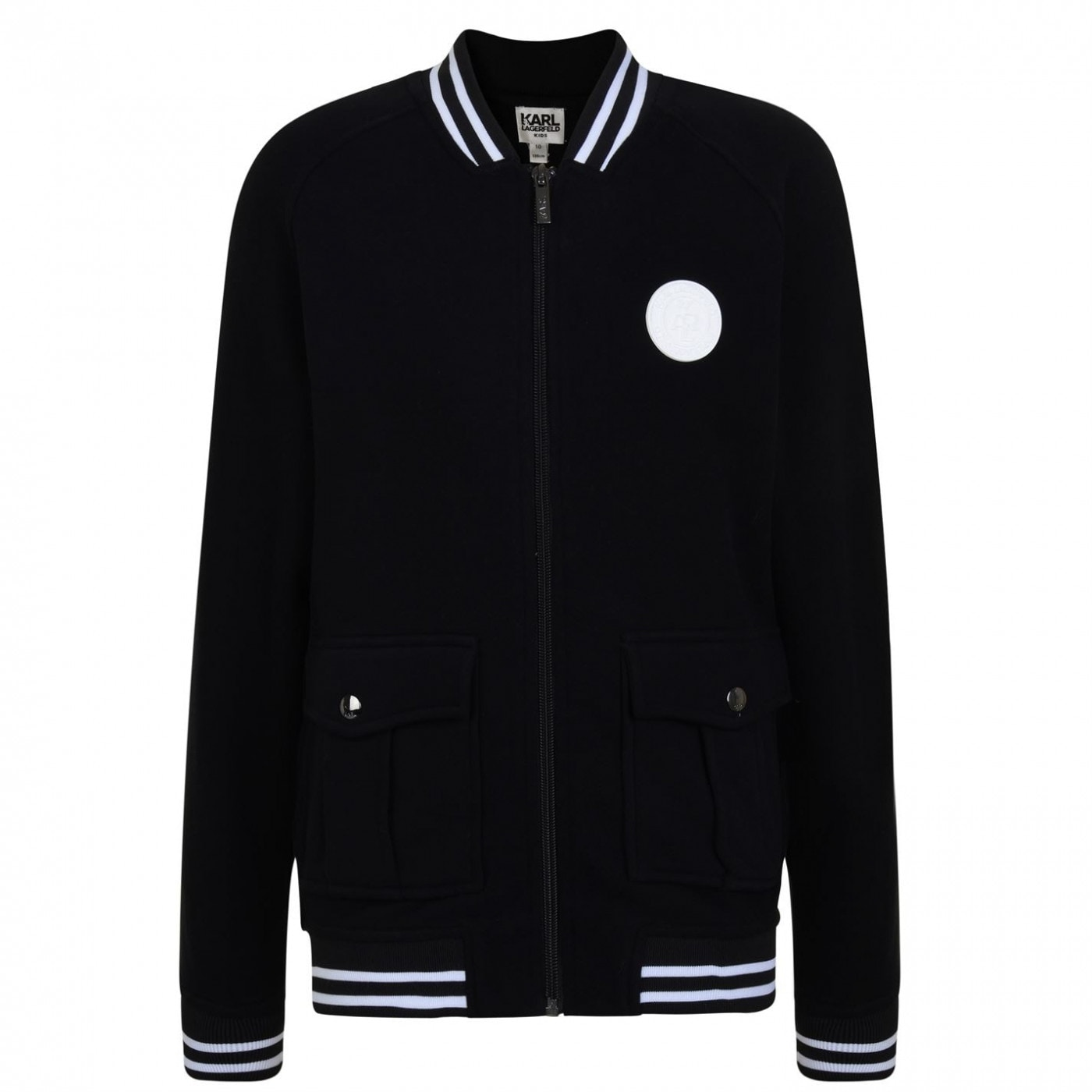 Karl Lagerfeld Skool Team Bomber Jacket
