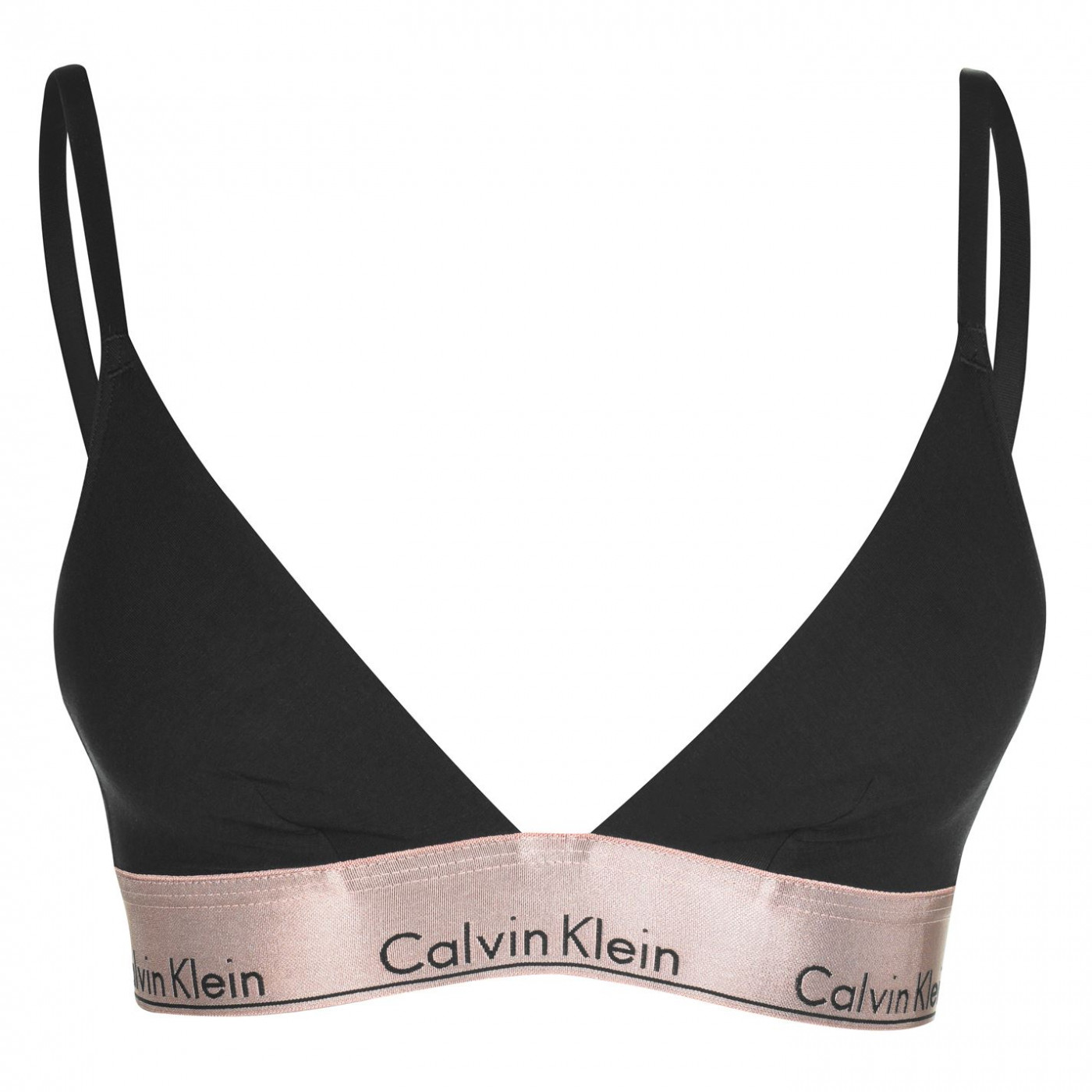 Calvin Klein Metallic Triangle Bra