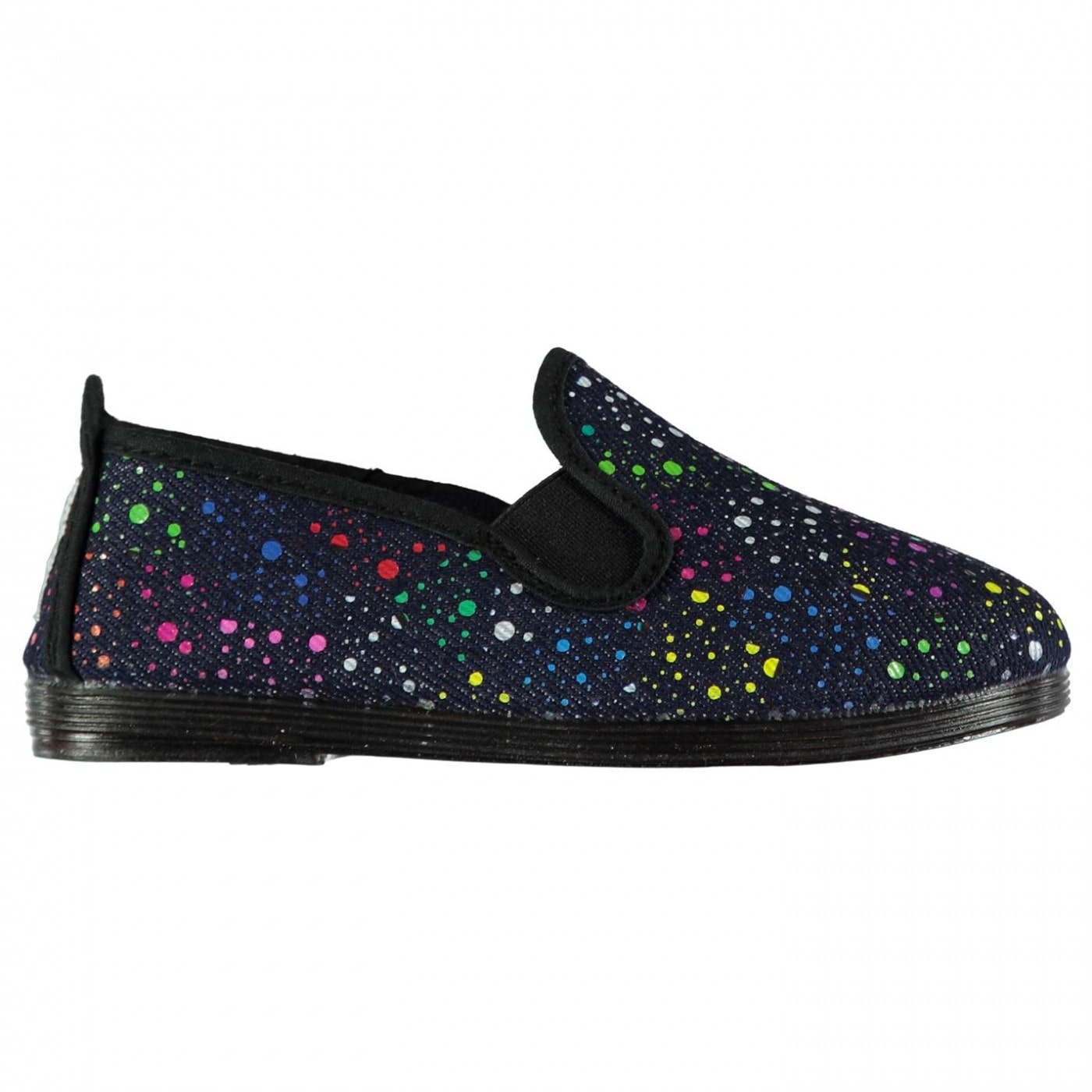 Flossy Topin Slip On Plimsolls