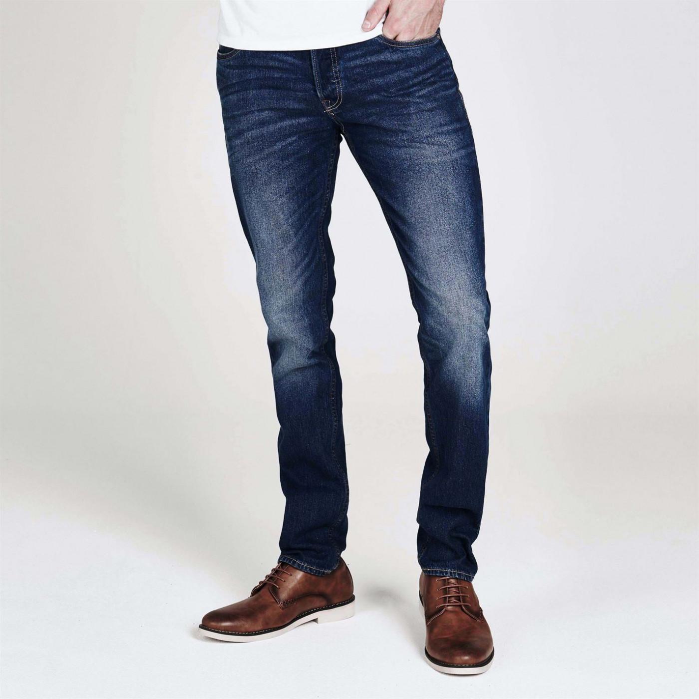 Jack and Jones Jeans Intelligence Tim Slim Mens Jeans
