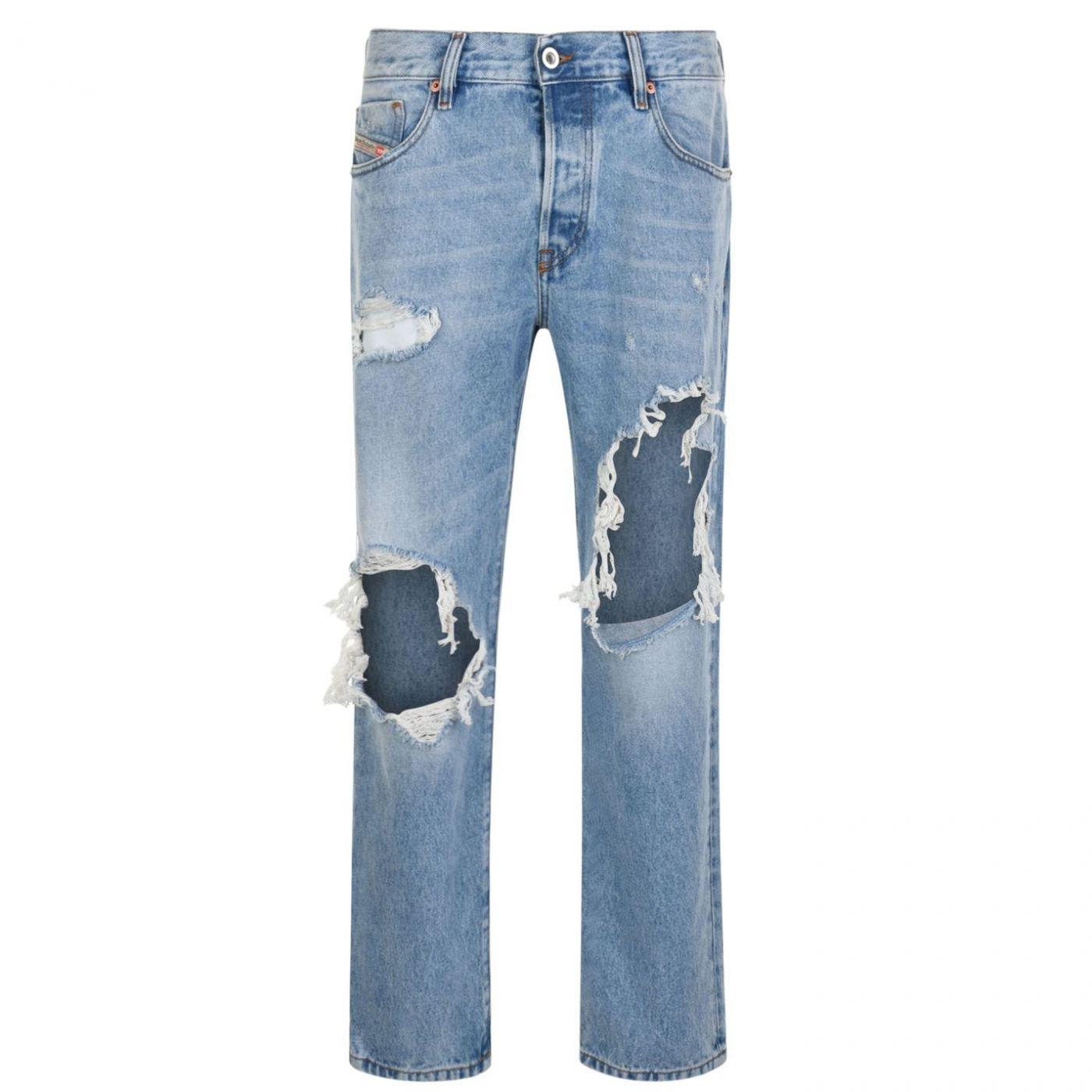 Diesel Ripped Slim Fit Jeans