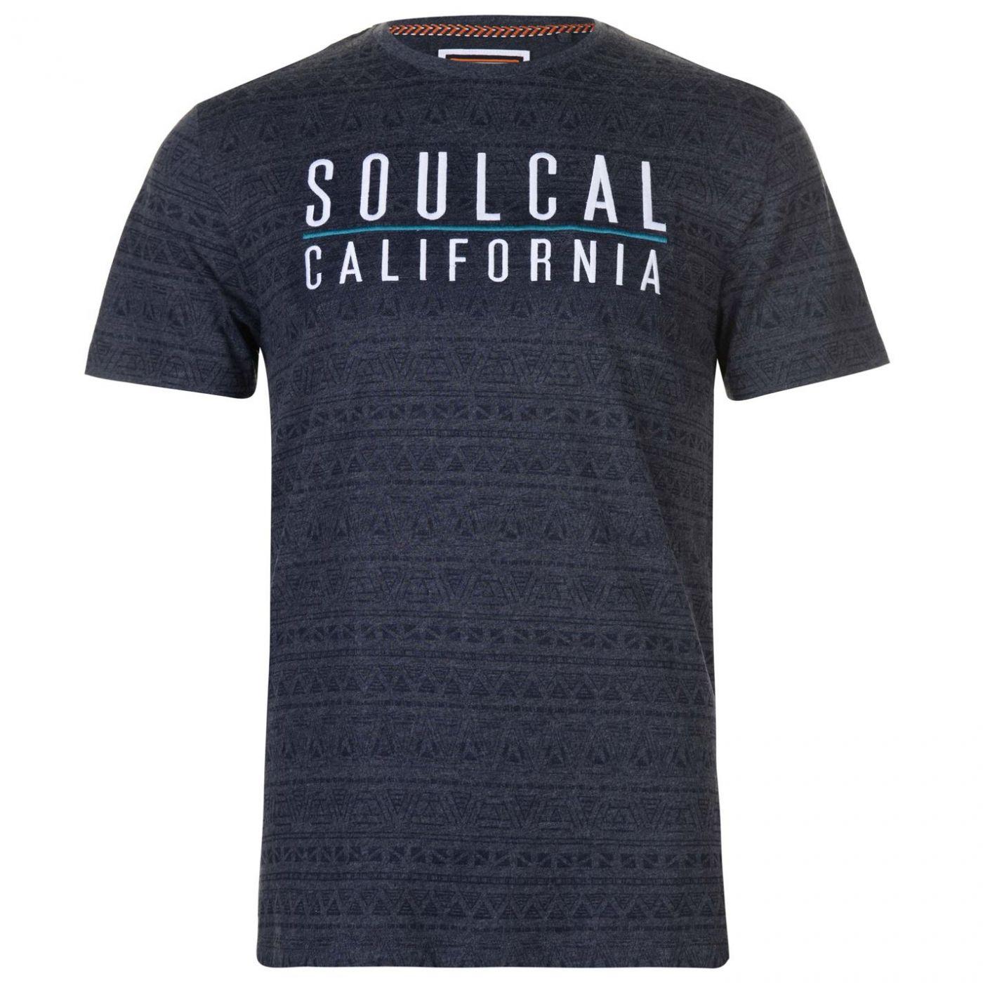 SoulCal AOP T Shirt pánske