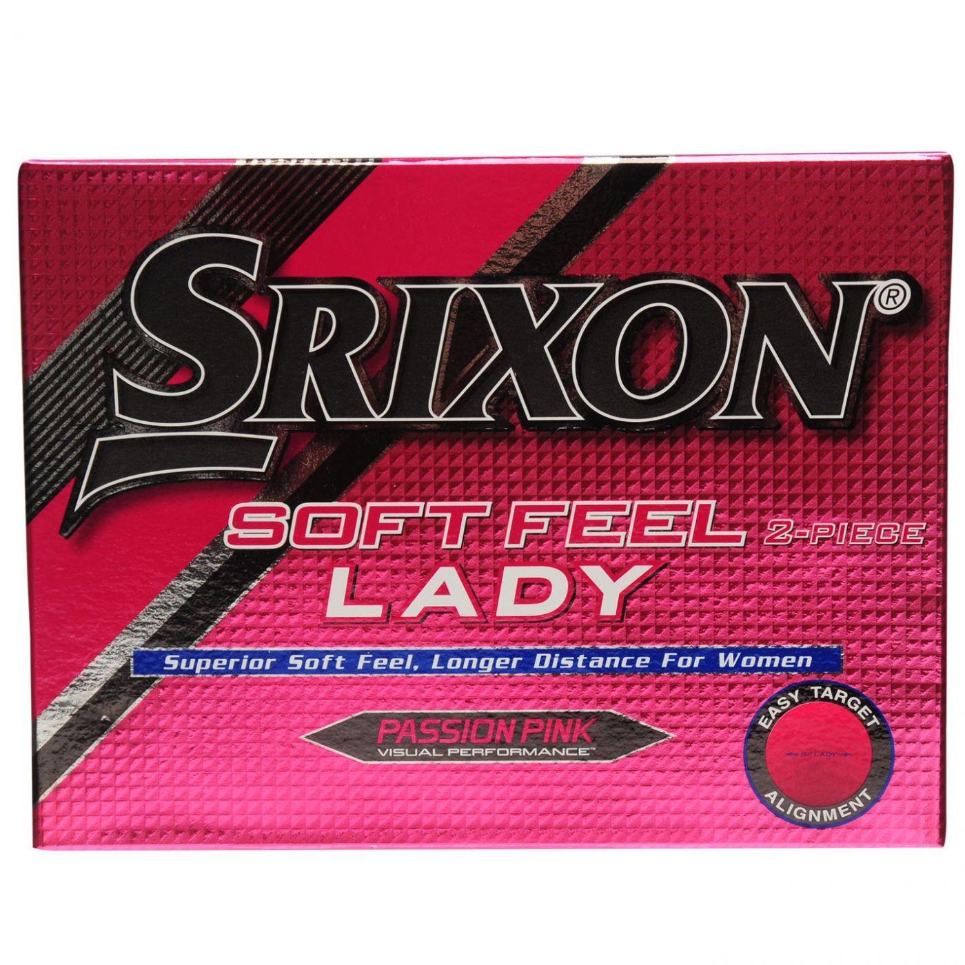 Srixon Soft Feel 12 Pack Ladies