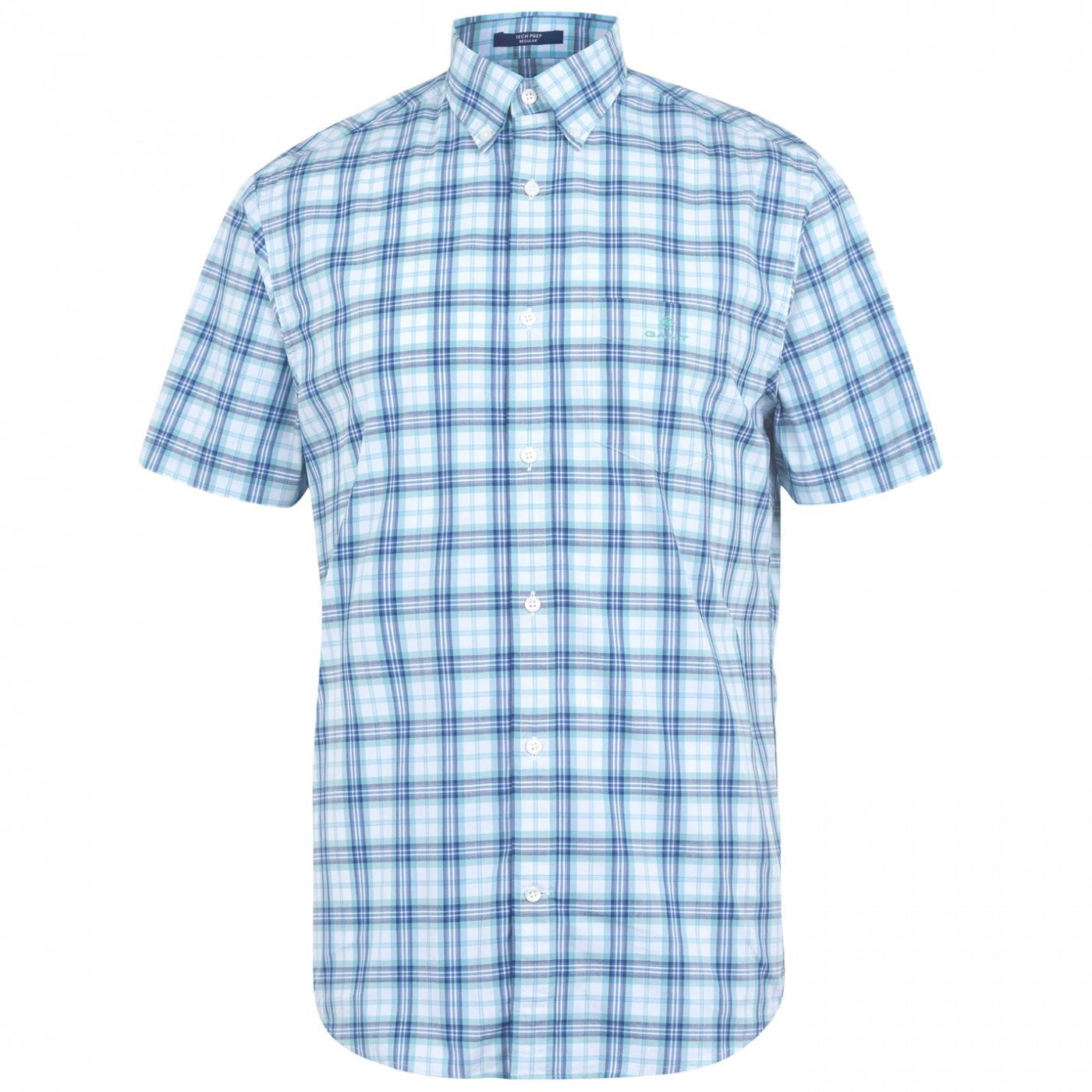 Gant Multi Check Short Sleeve Shirt