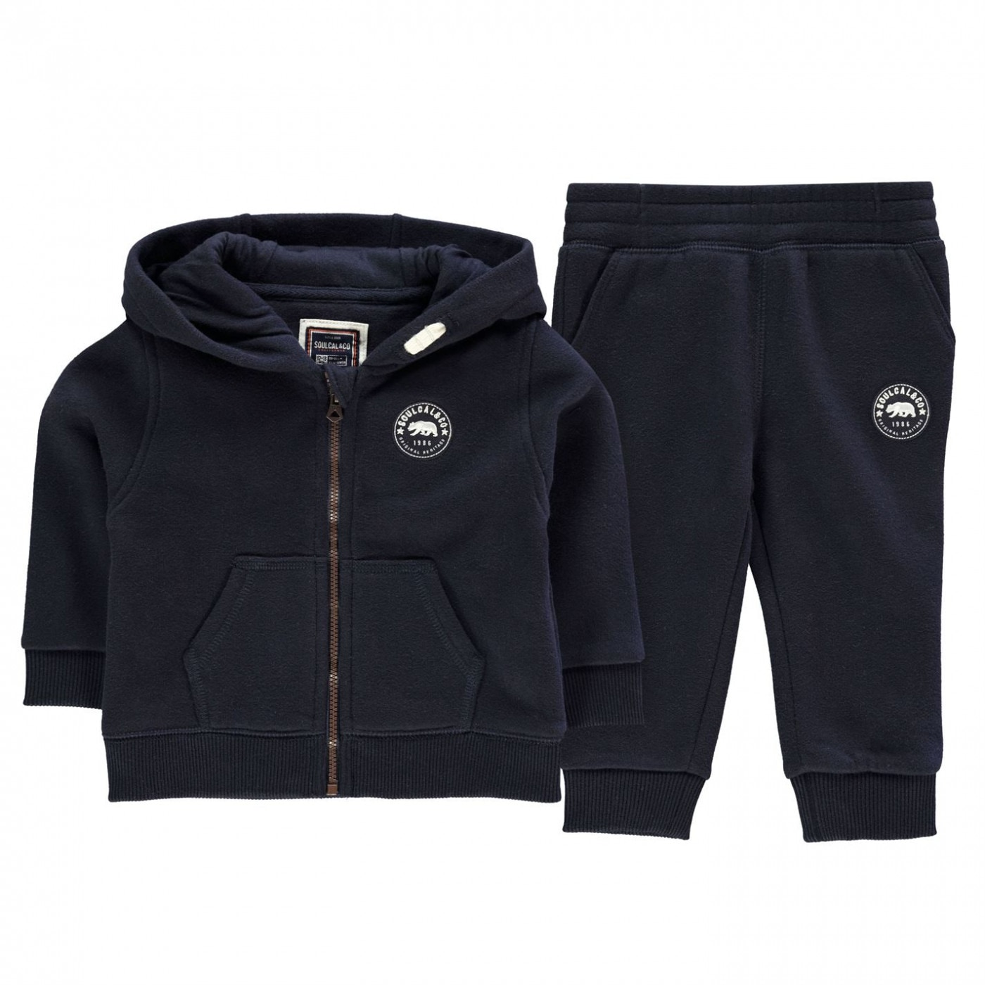 SoulCal Signature Zip Track Set Baby