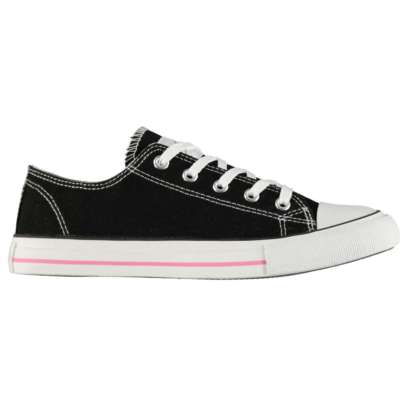 Lee Cooper Canvas Lo Shoes Ladies