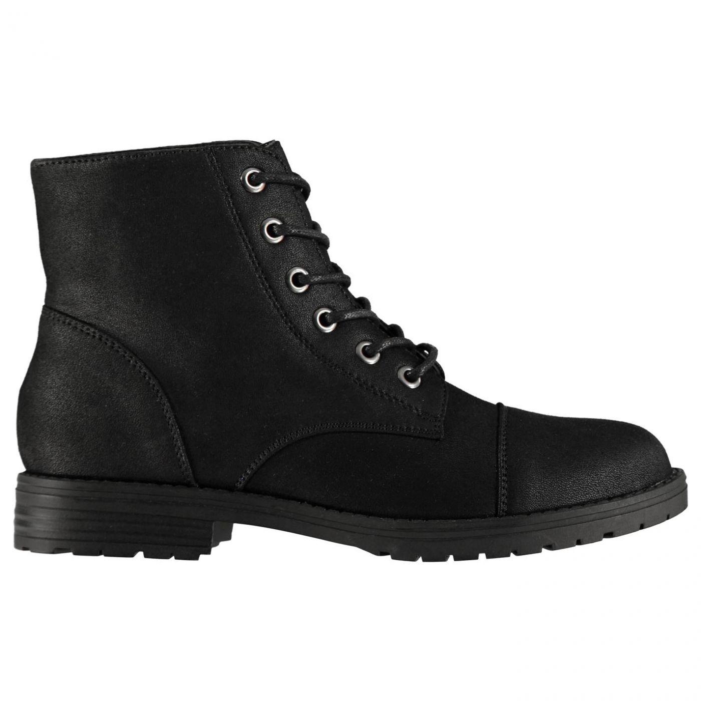 Miso Myla Military Junior Girls Boots