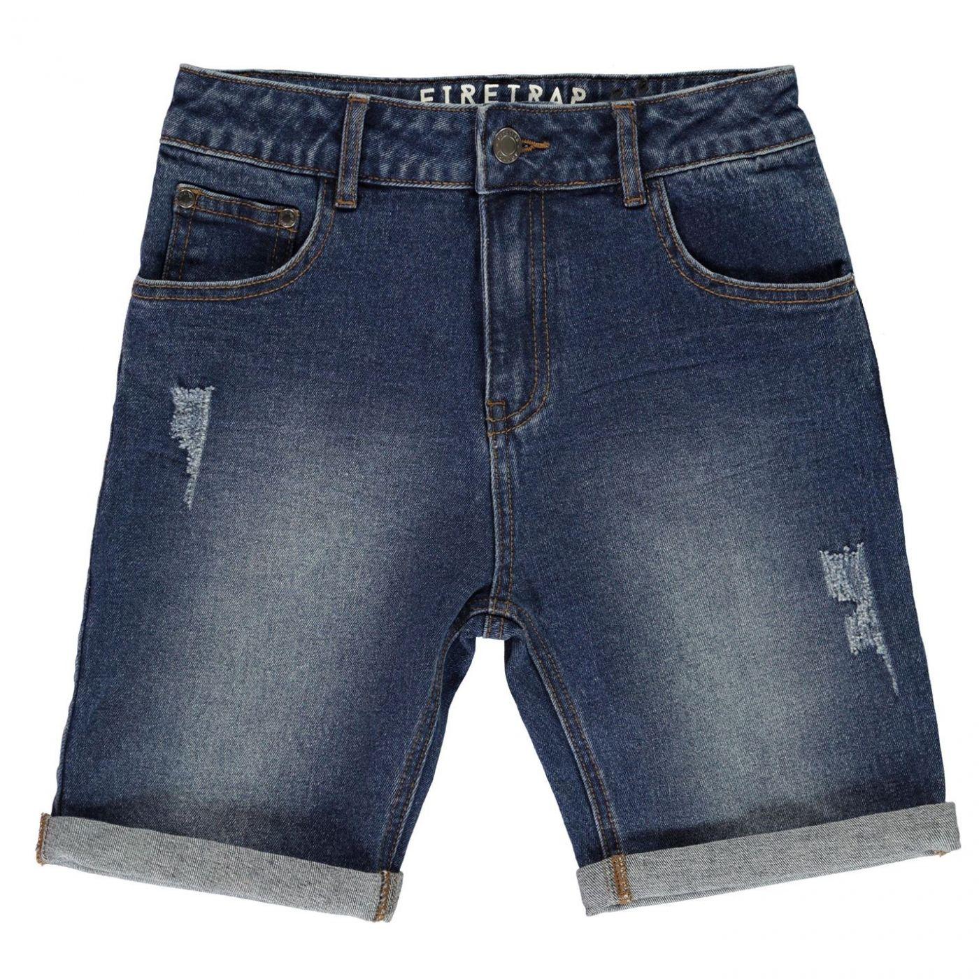 Firetrap Denim Shorts Junior Boys