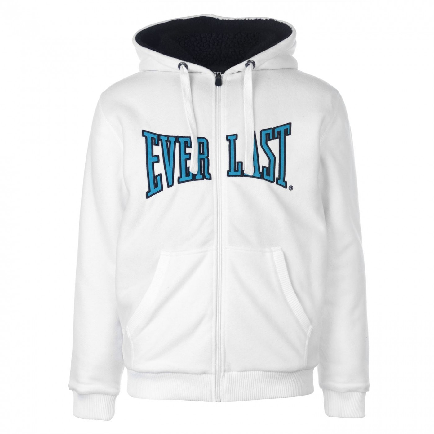 Everlast Fleece Zip Logo pánska mikina