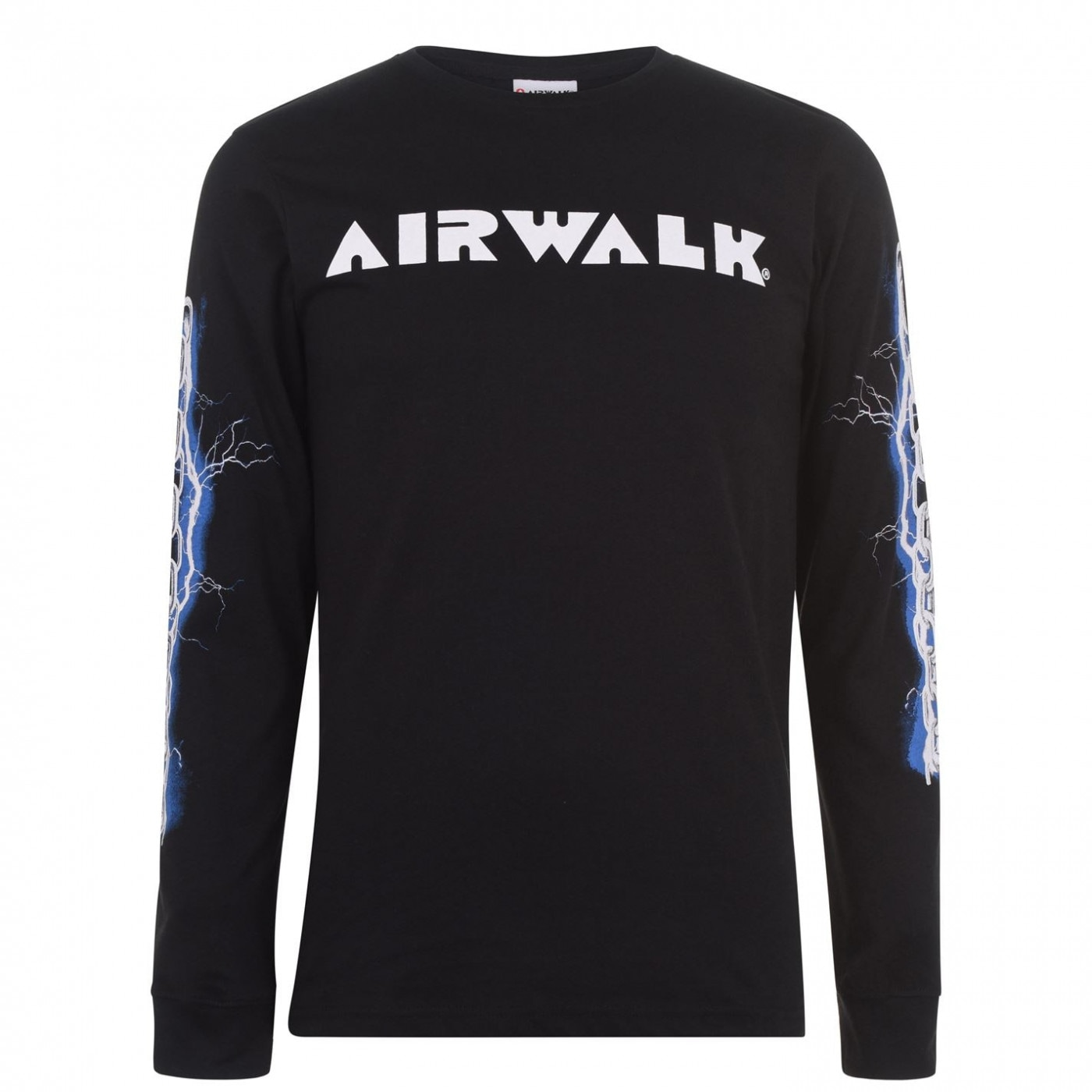 Airwalk Chain Long Sleeve T Shirt Mens