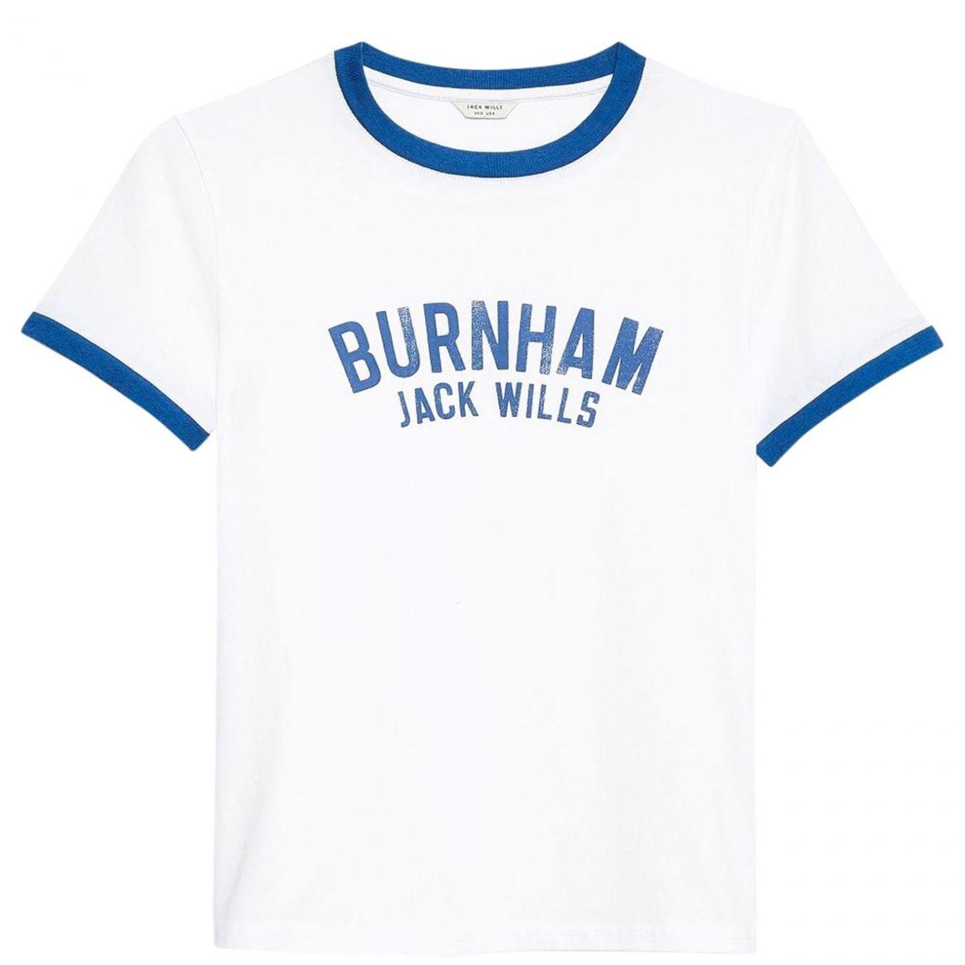 Jack Wills Trinkey Ringer Burnham T-Shirt