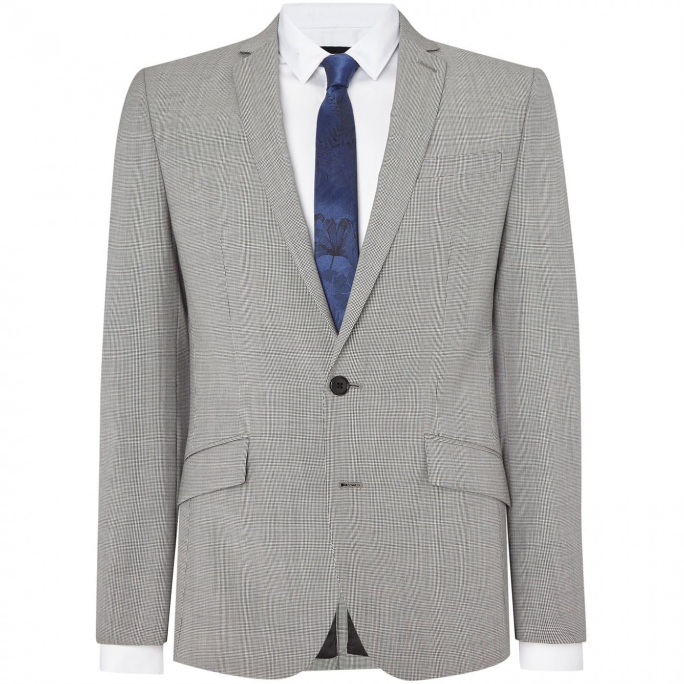 Kenneth Cole Avery Dogtooth Suit Jacket