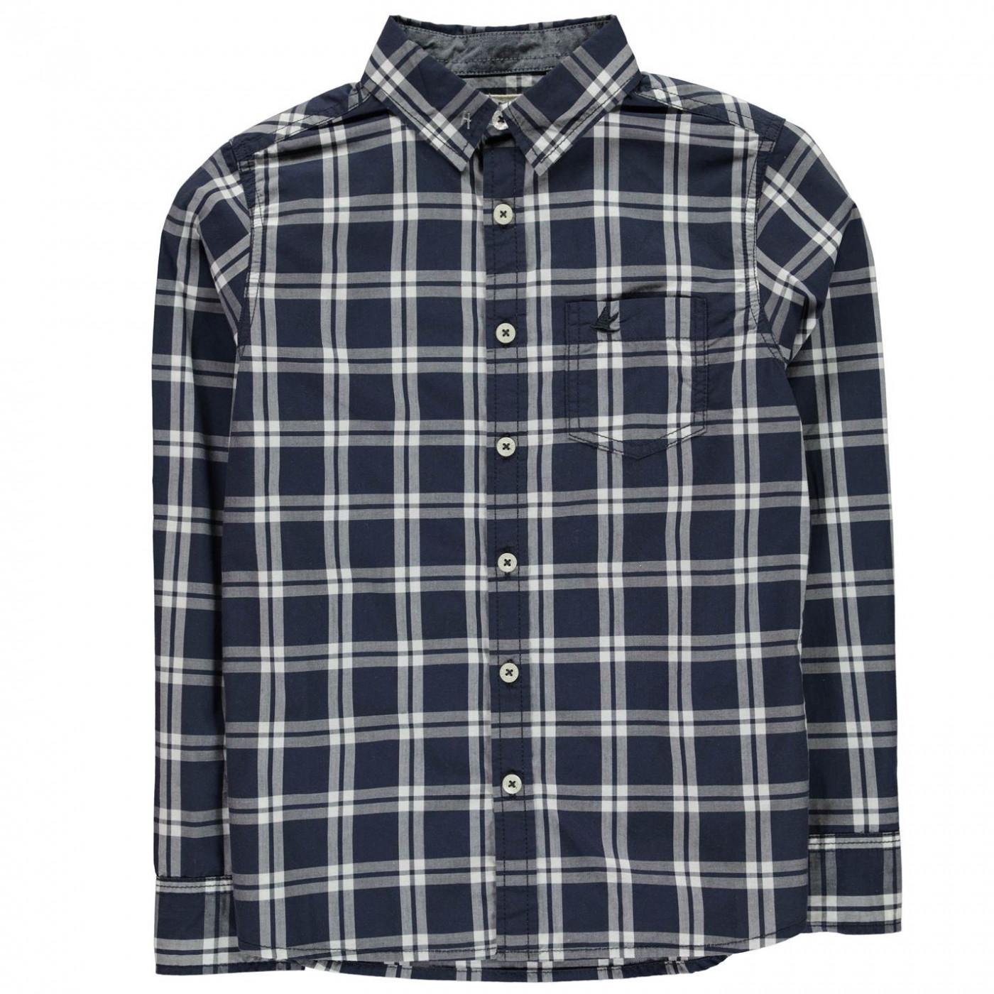 b61c1bb4c SoulCal Long Sleeve Check Shirt Junior Boys - FACTCOOL