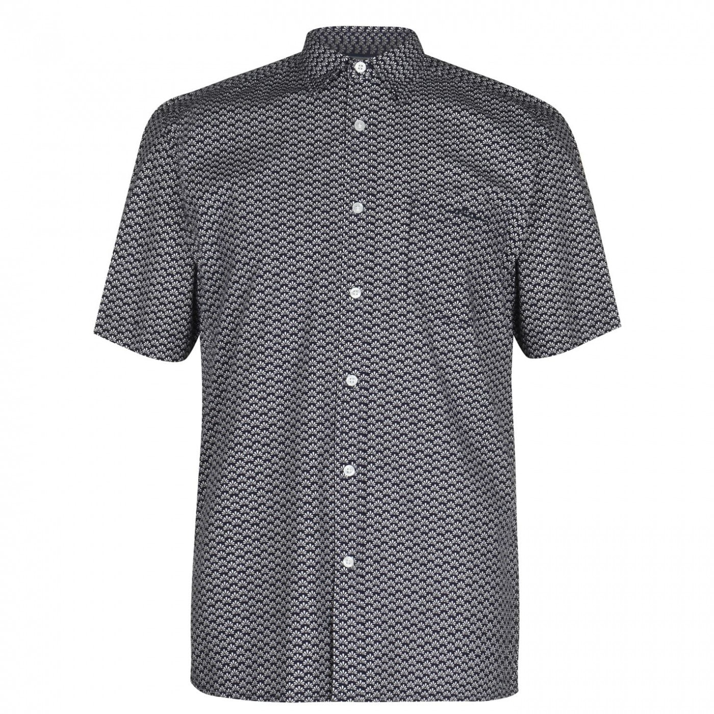 Pierre Cardin Geometric Shirt Mens