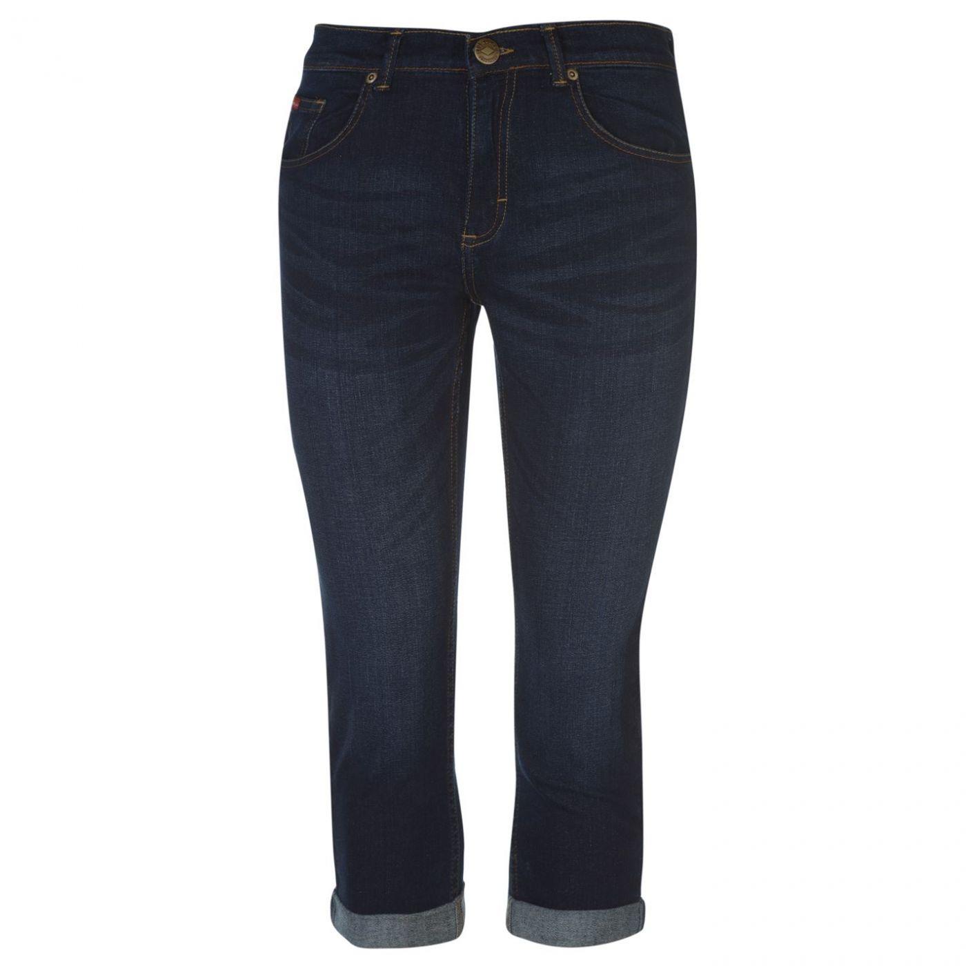 Lee Cooper Cropped Jeans Ladies