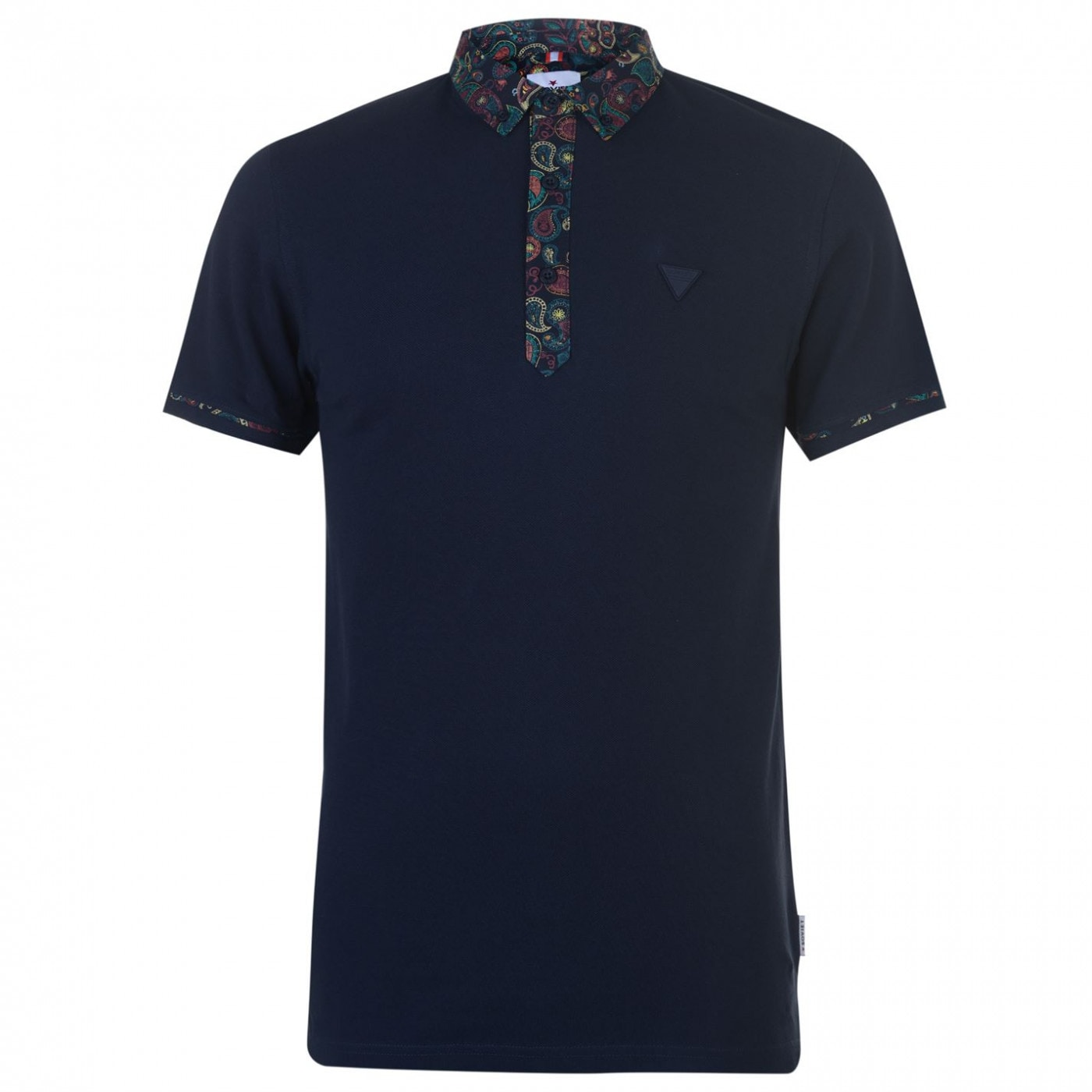 Soviet Paisley Collar Polo Shirt Mens