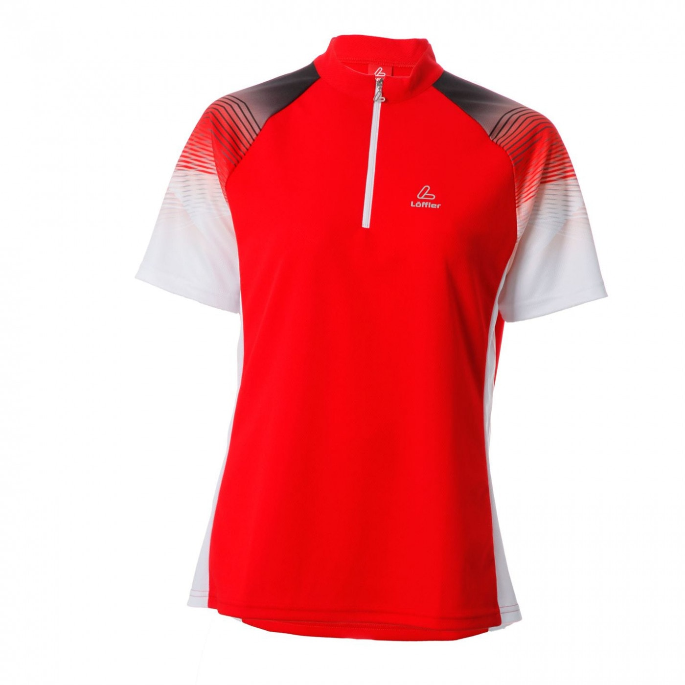 Löffler Tri Active Zip Polo Shirt Ladies