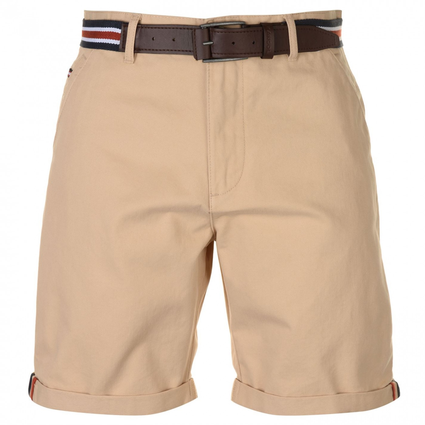 Kangol Belted Shorts Mens