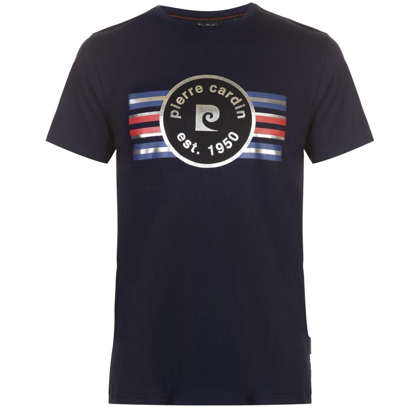 Pierre Cardin Foil Logo Tee Mens