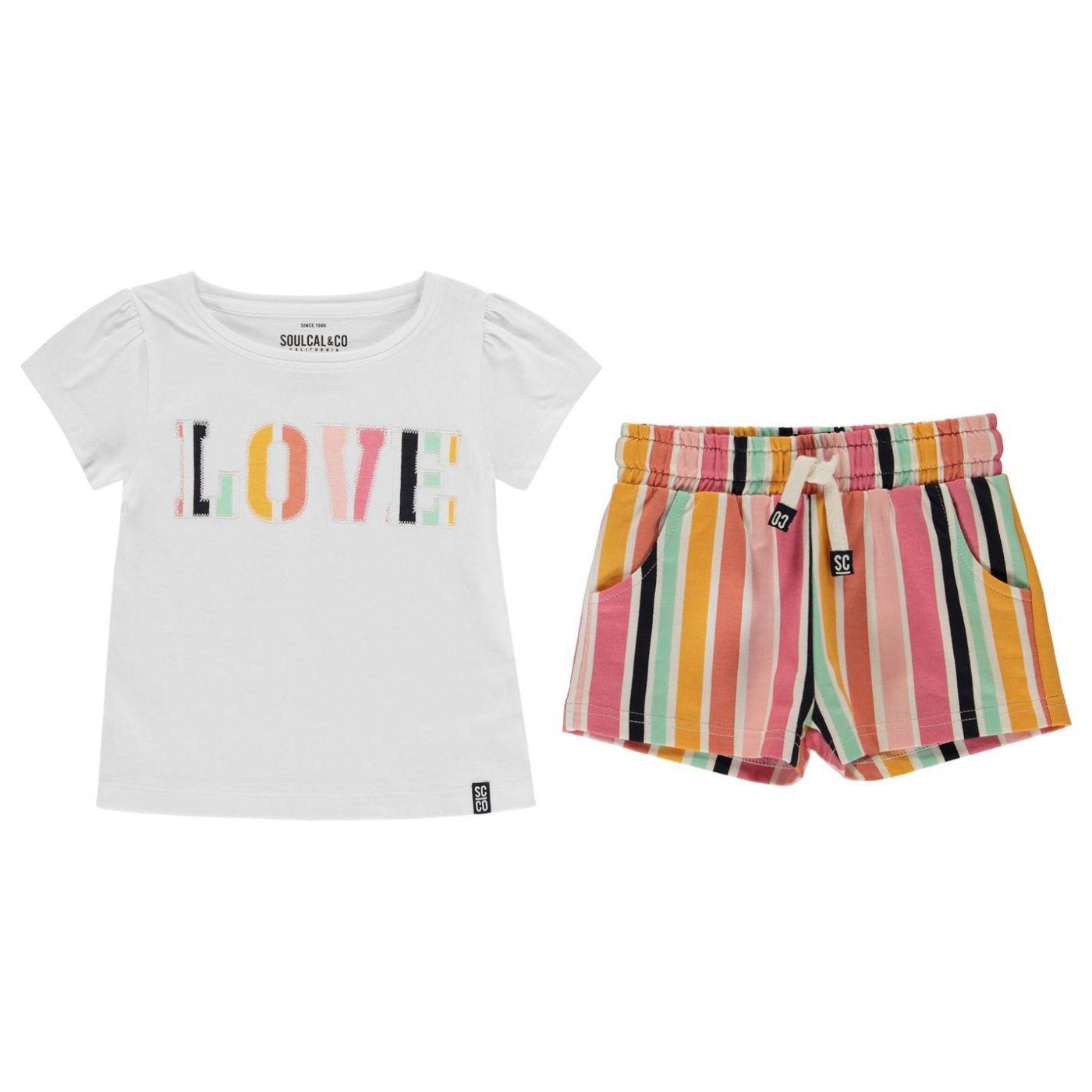 SoulCal Shorts Set Infant Girls