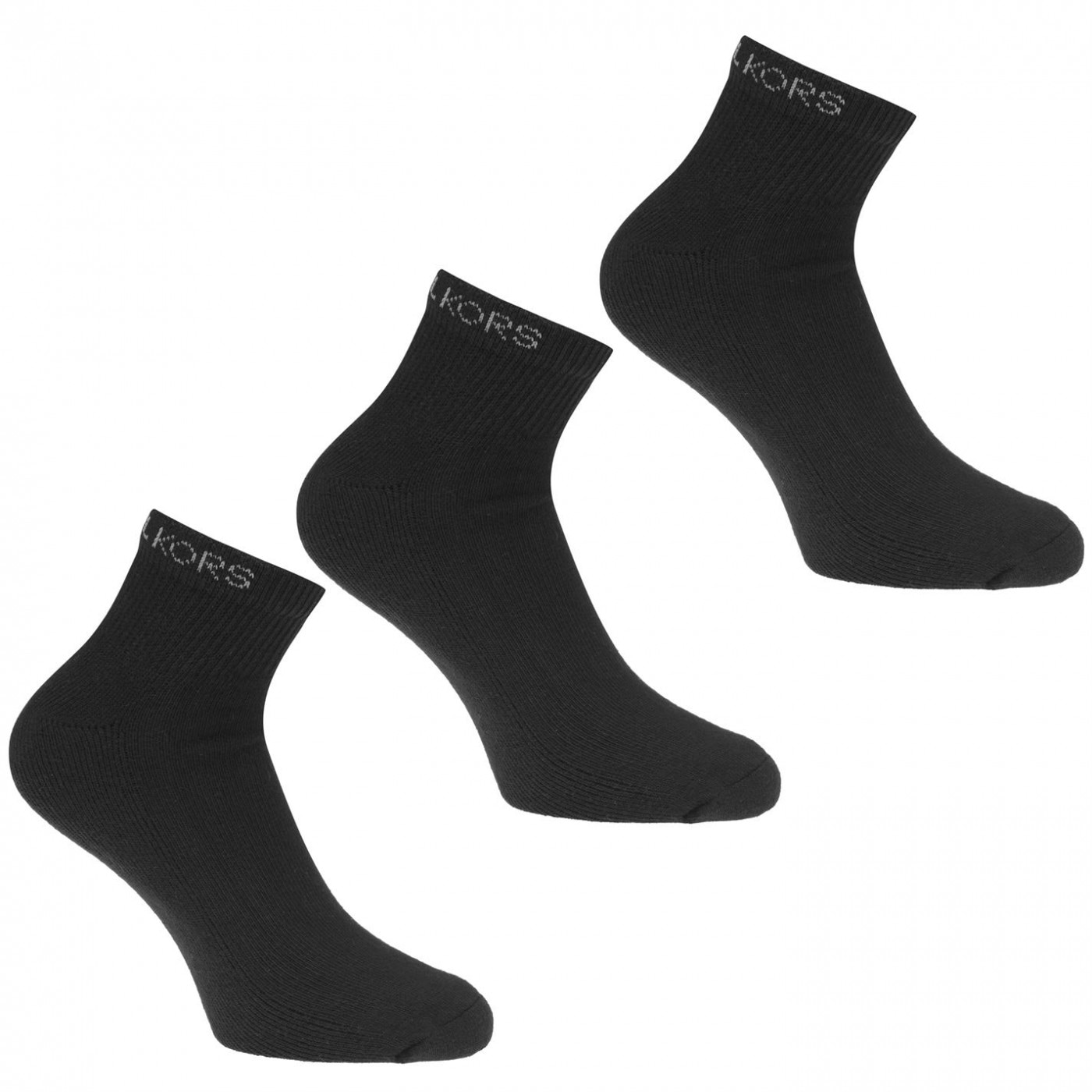 MICHAEL Michael Kors Mens 3 Pack Classic Trainer Socks