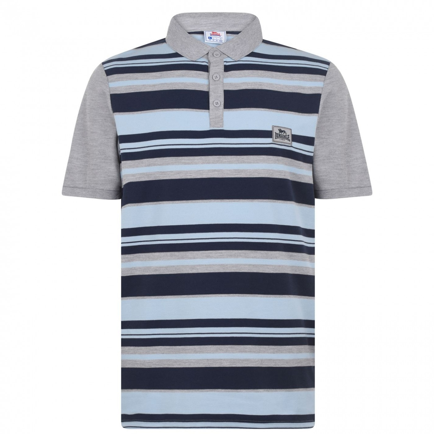 Men's polo Lonsdale Striped
