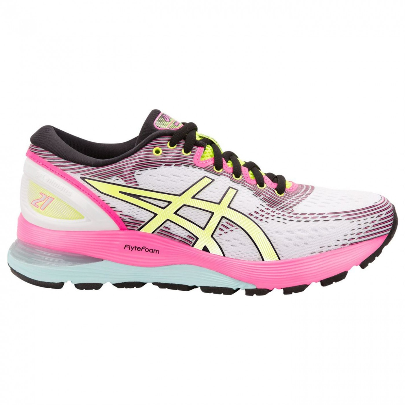 Asics Nimbus 21 AP Ladies Running Shoes