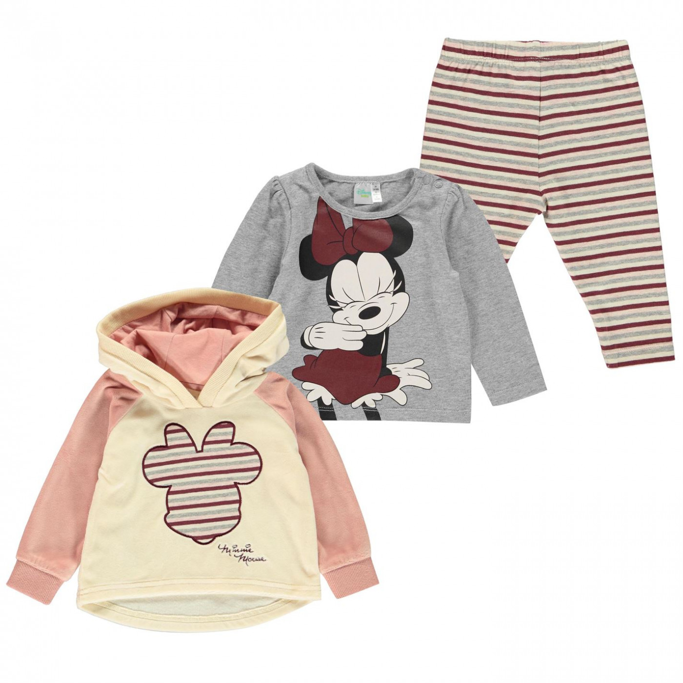 Character 3 Piece Set Baby Girls