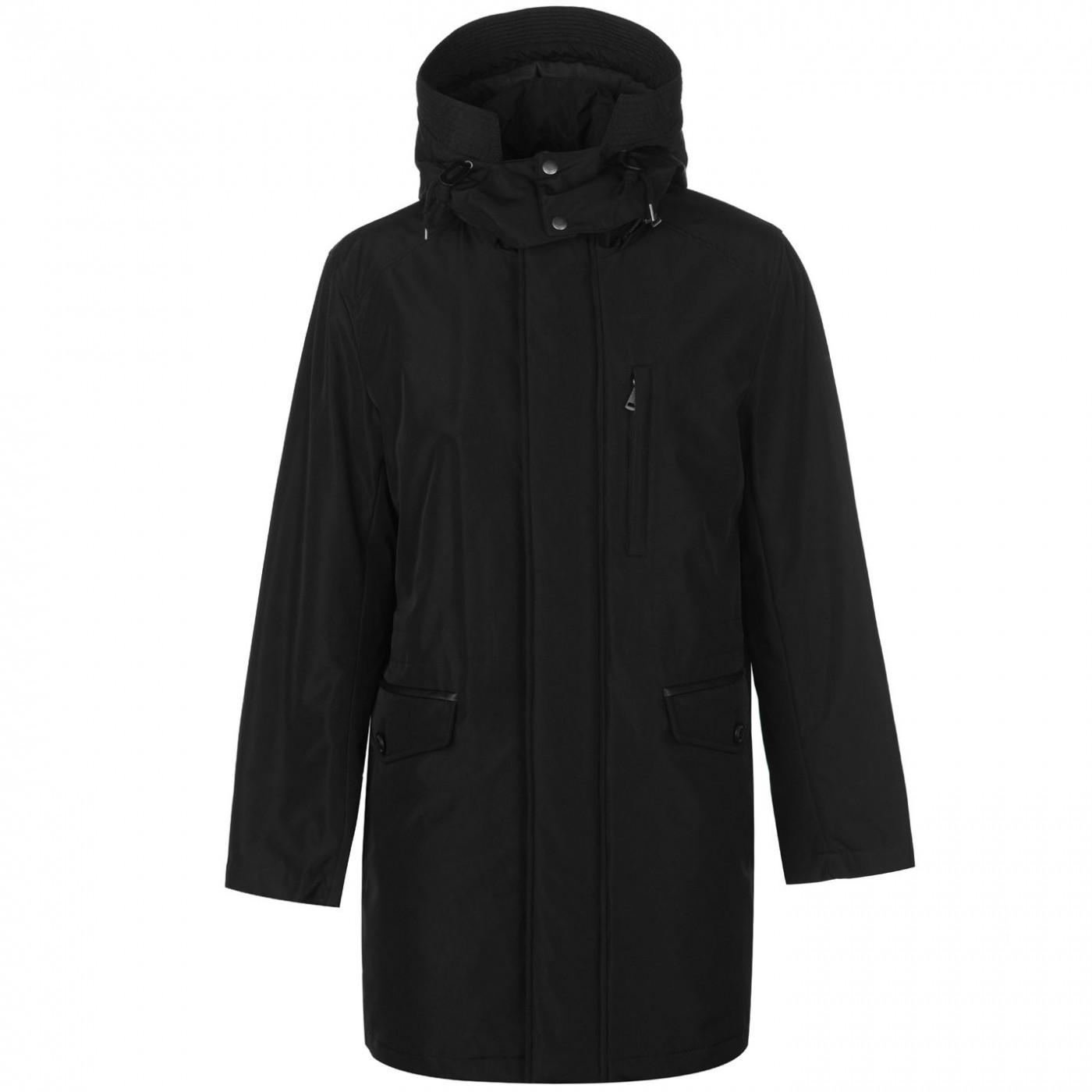 Cole Haan Nylon Parka Jacket Mens