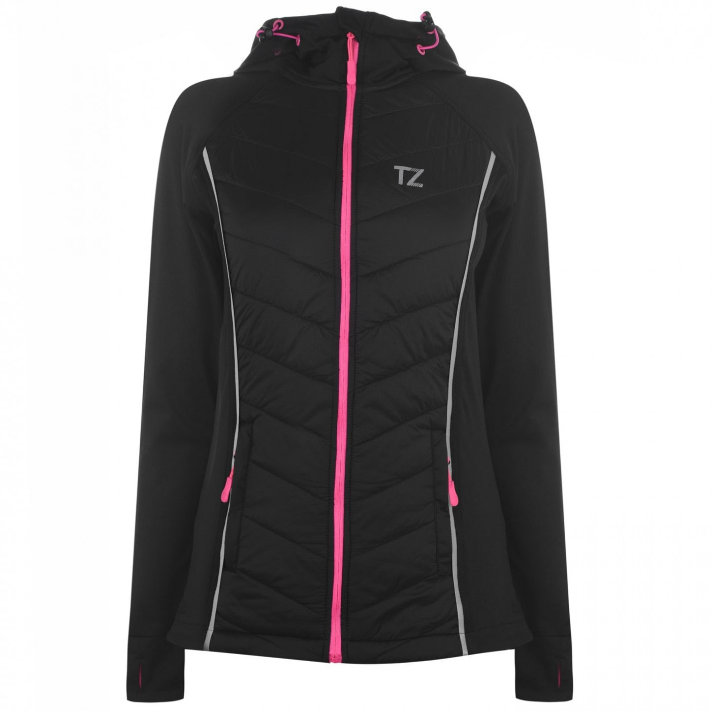 Training Zone Quilted Zip Hoodie Ladies