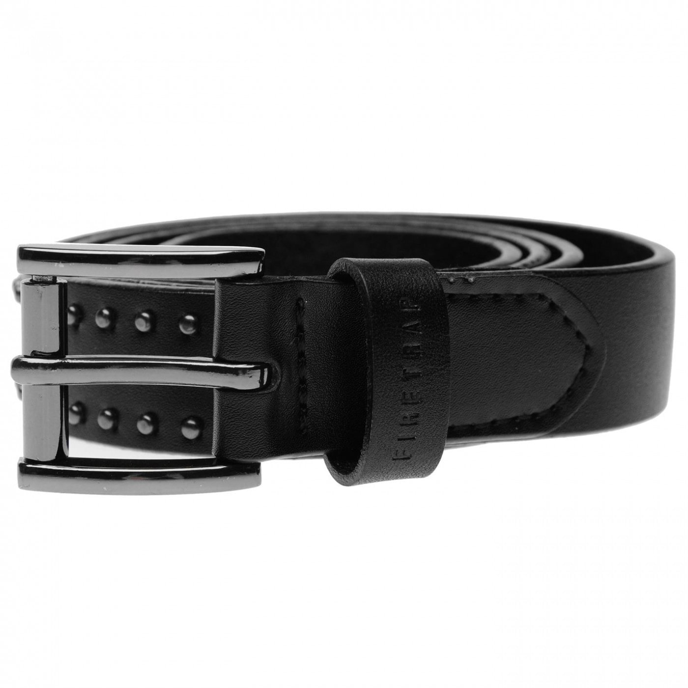 Firetrap Dark Stud Belt Ladies