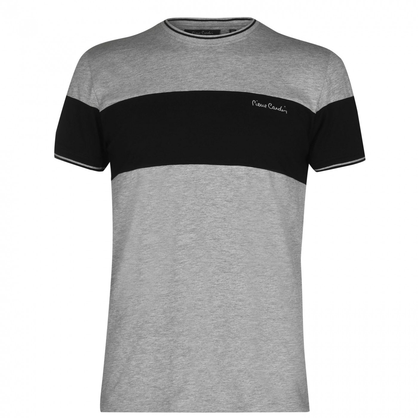 Pierre Cardin Cut and Sew Tipped T Shirt Mens