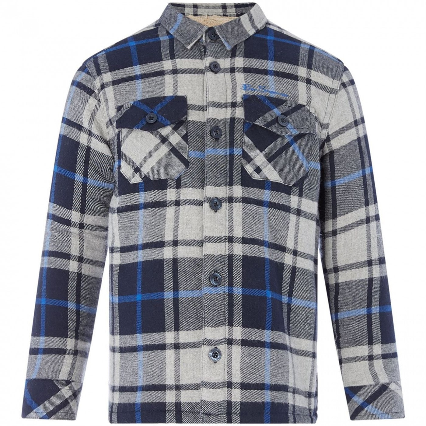 Ben Sherman Borg Lined Brushed Check Shirt