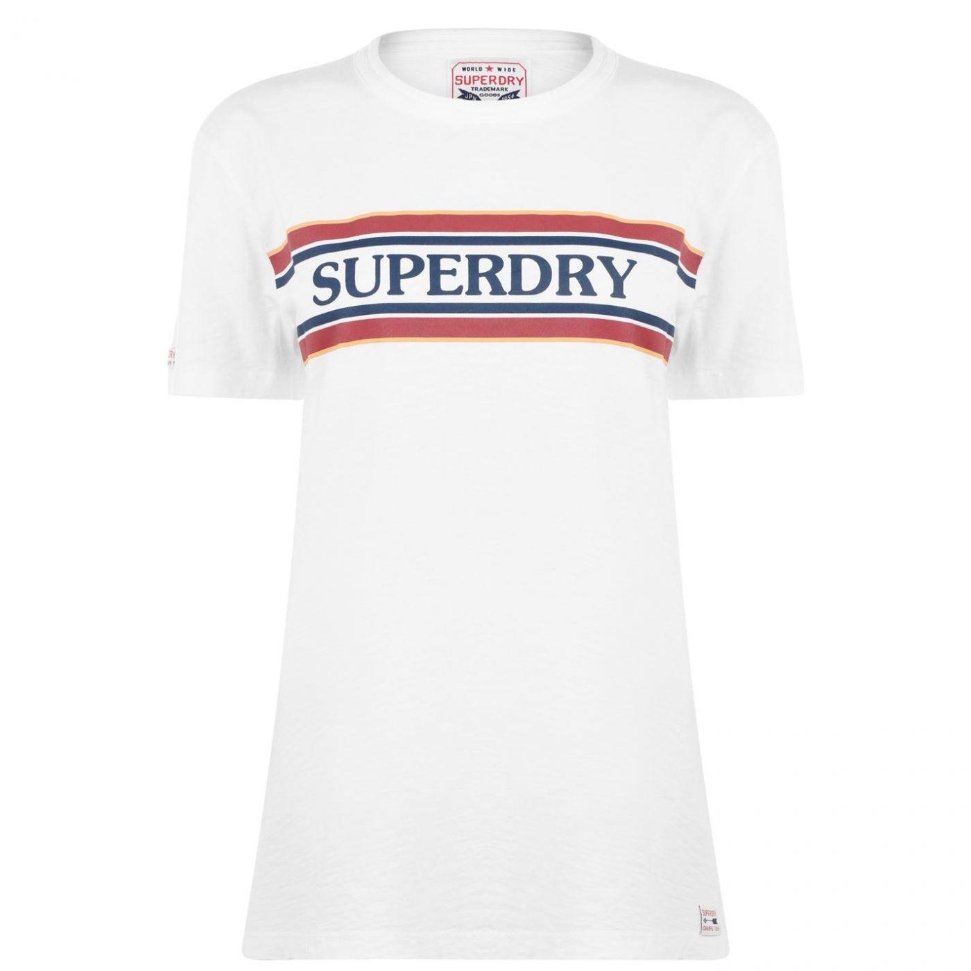 Superdry Text T Shirt