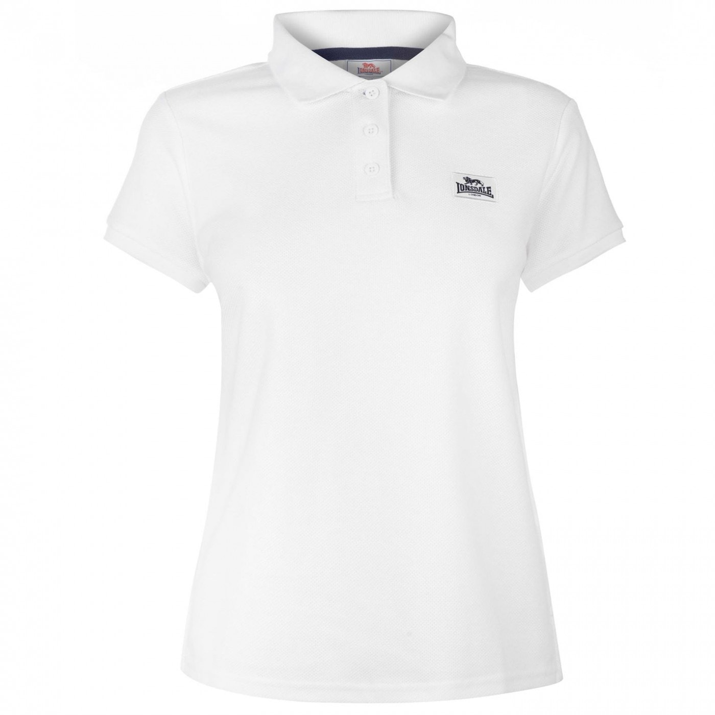 Lonsdale Lion Polo Shirt Ladies