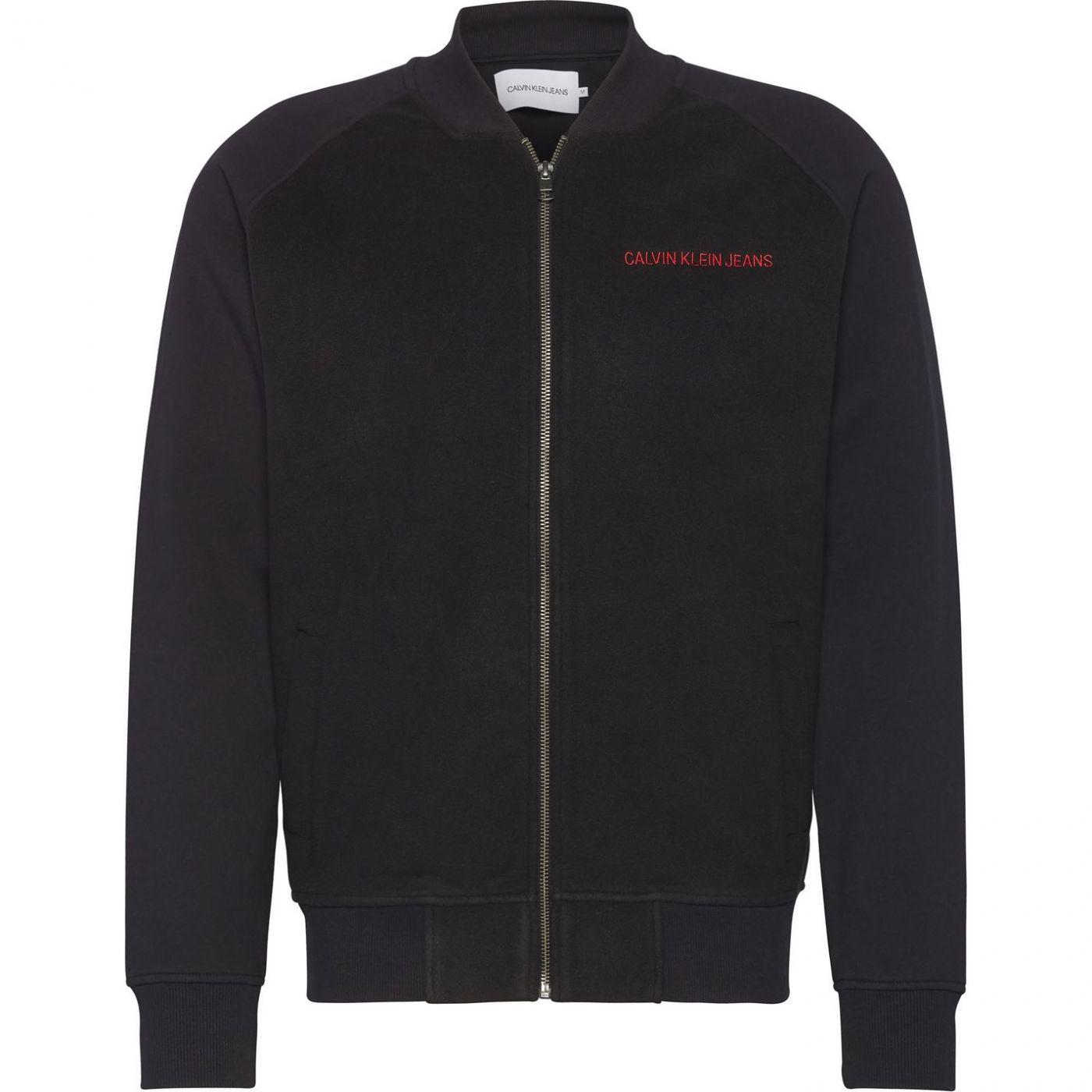 Calvin Klein Jeans Fleece Bomber Jacket