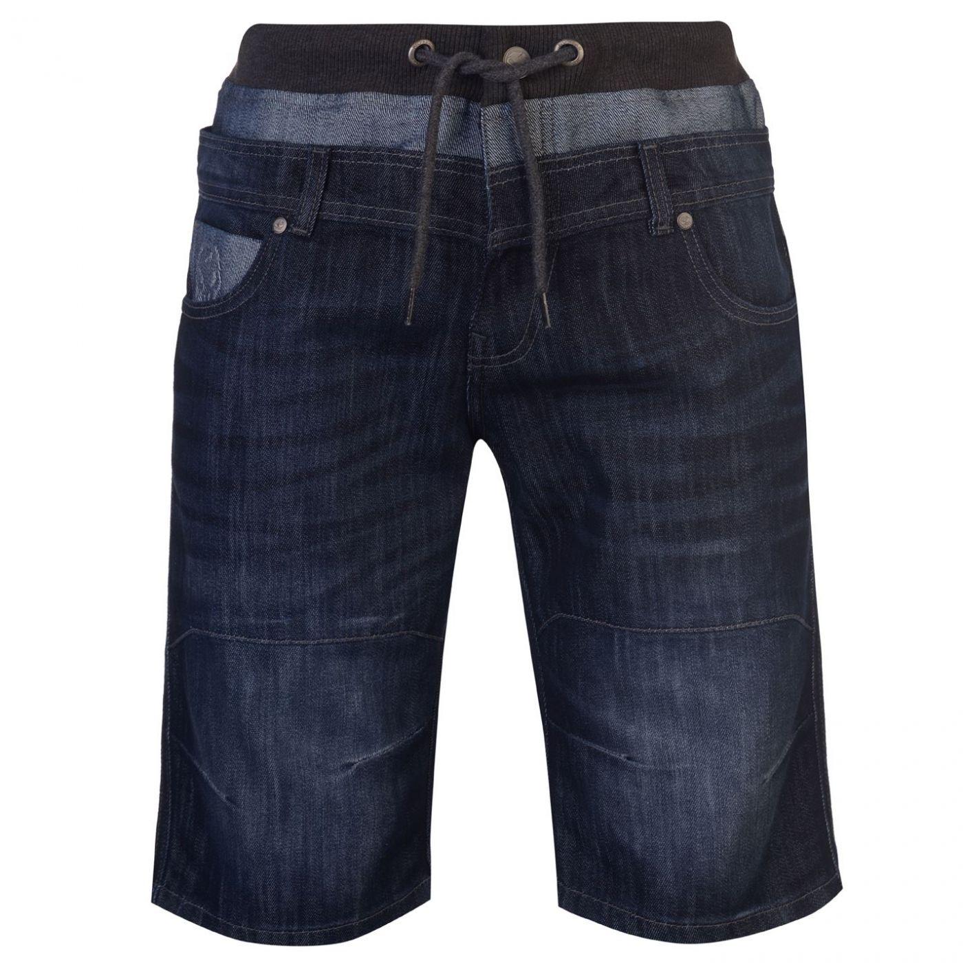 No Fear Double Waist Shorts Mens