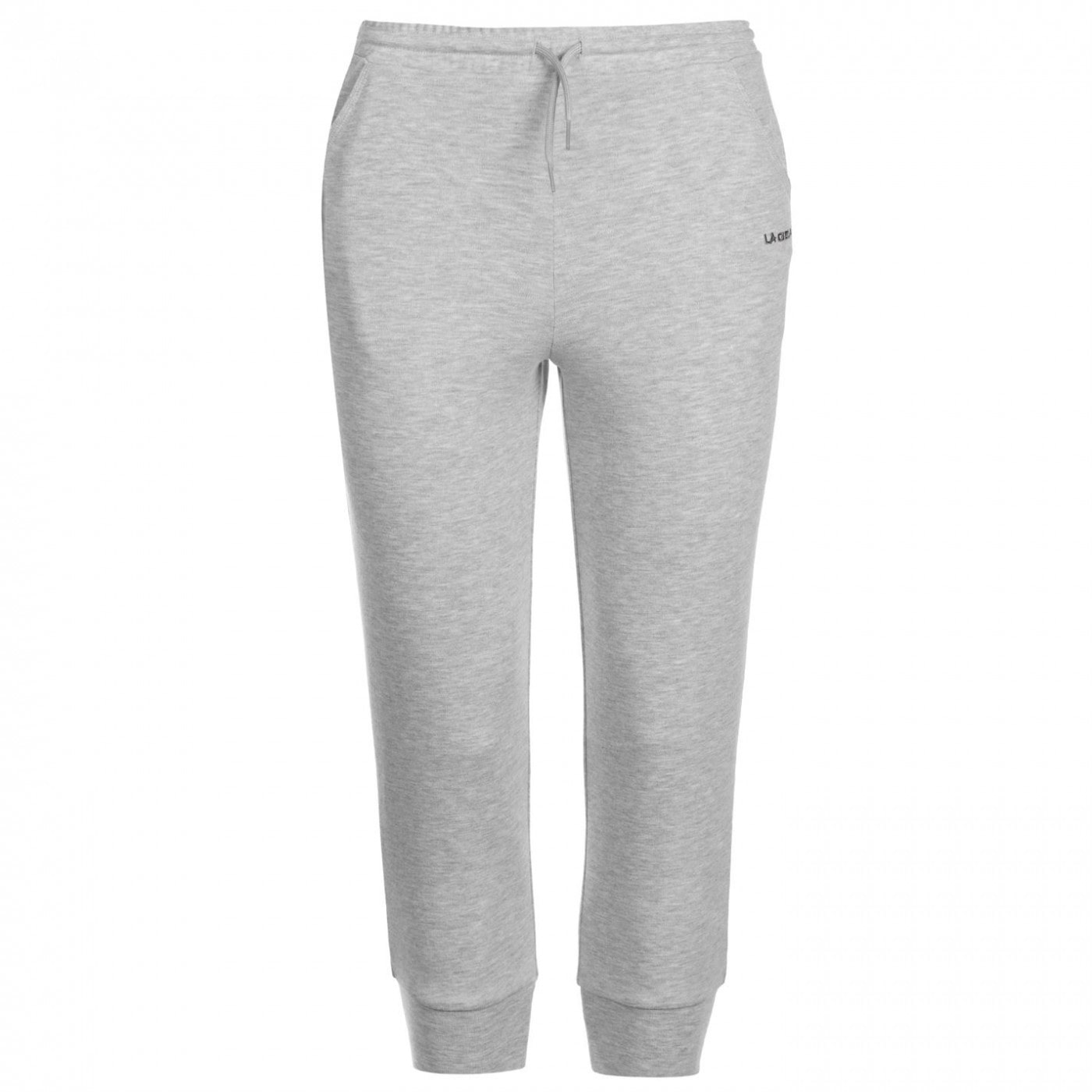 LA Gear Three Quarter Interlock Jogging Pants Ladies